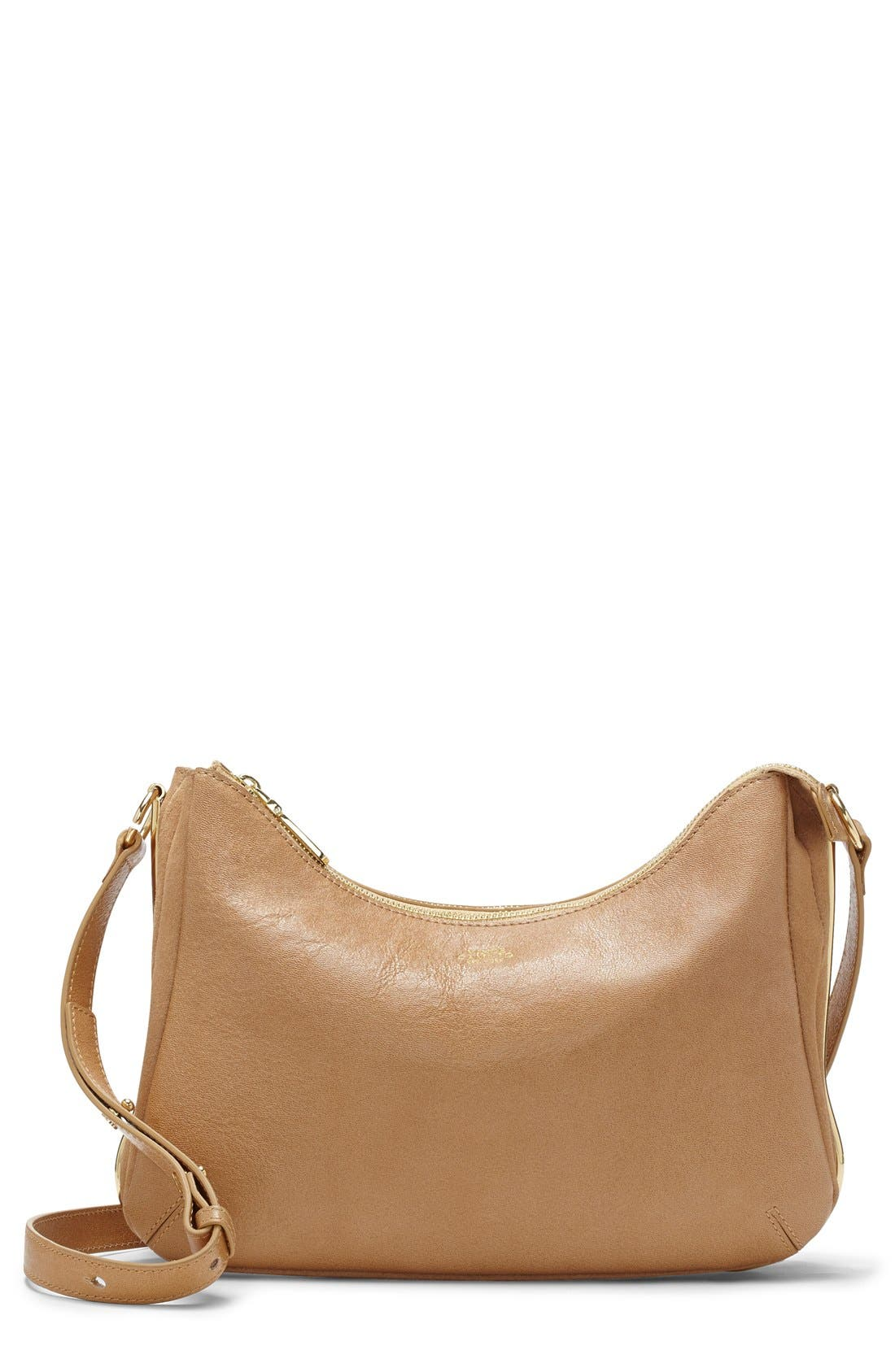 Alternate Image 1 Selected - Vince Camuto 'Sadie' Leather Crossbody Bag