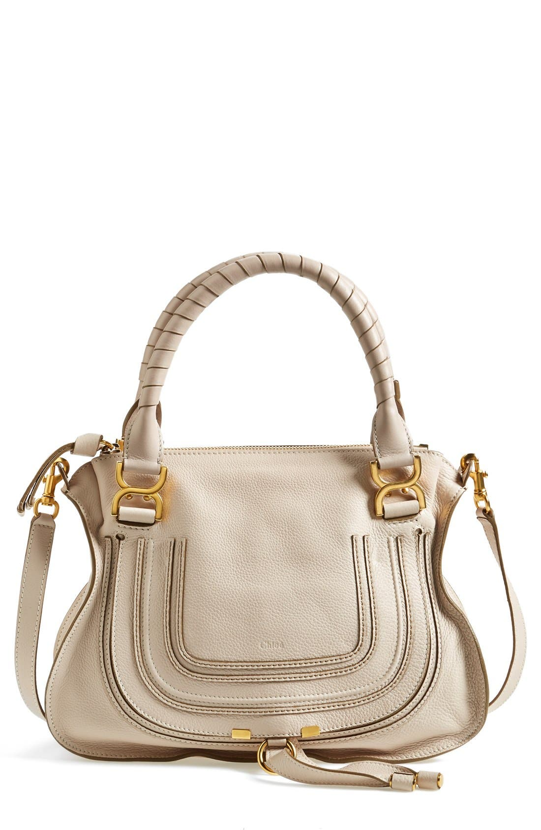 Alternate Image 1 Selected - Chloé 'Medium Marcie' Leather Satchel