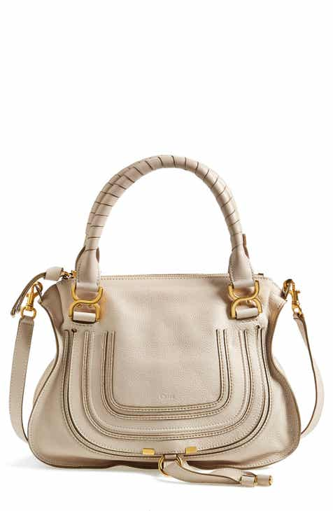 41d151fb9c11 Chloé  Medium Marcie  Leather Satchel