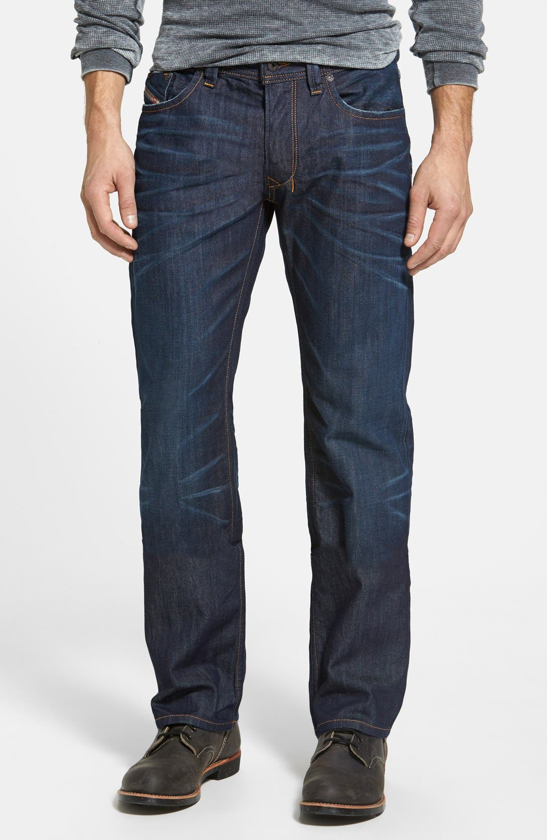 Main Image - DIESEL® Larkee Straight Leg Jeans (0806W)