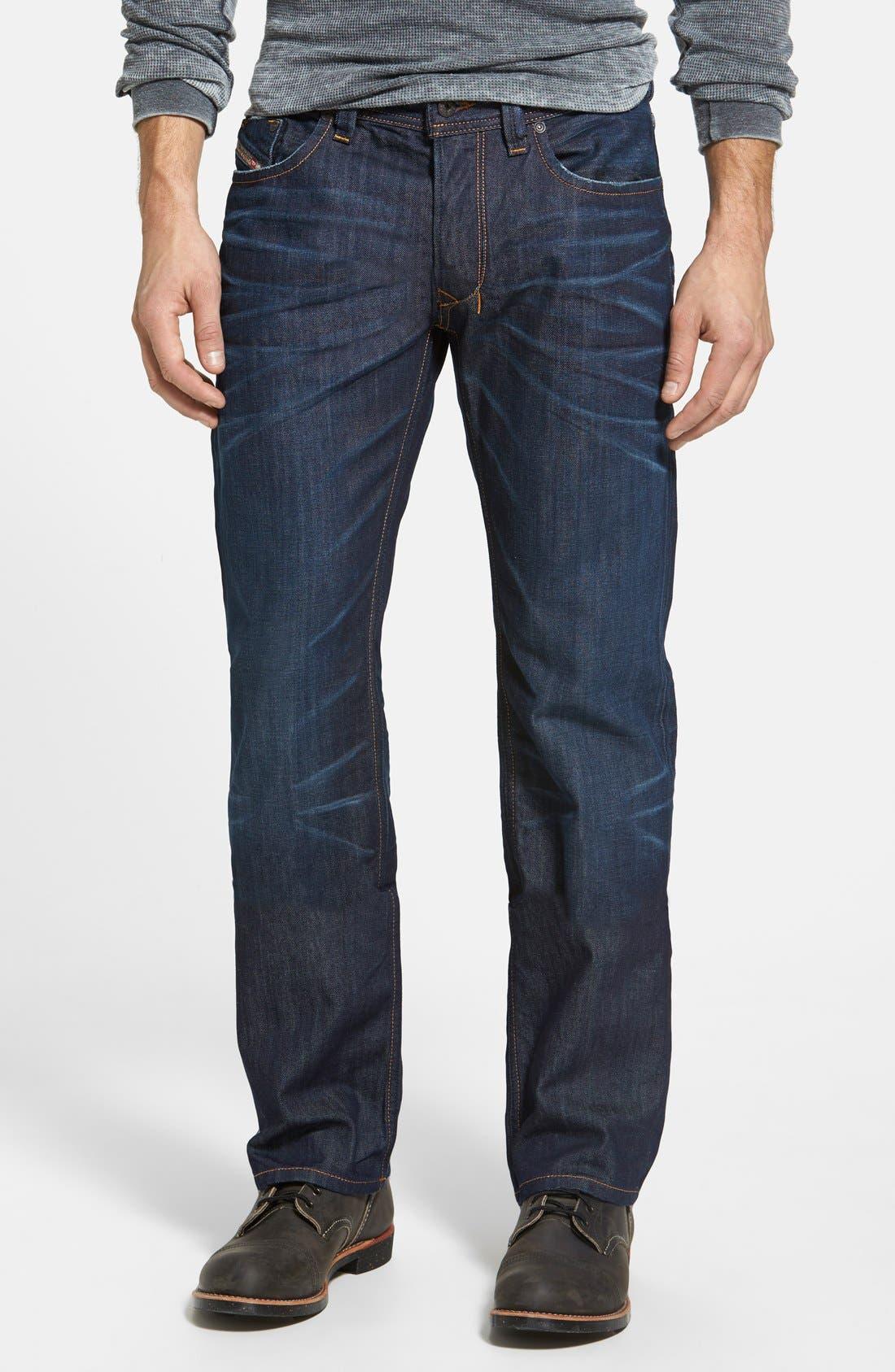 Larkee Straight Leg Jeans,                         Main,                         color, 0806W