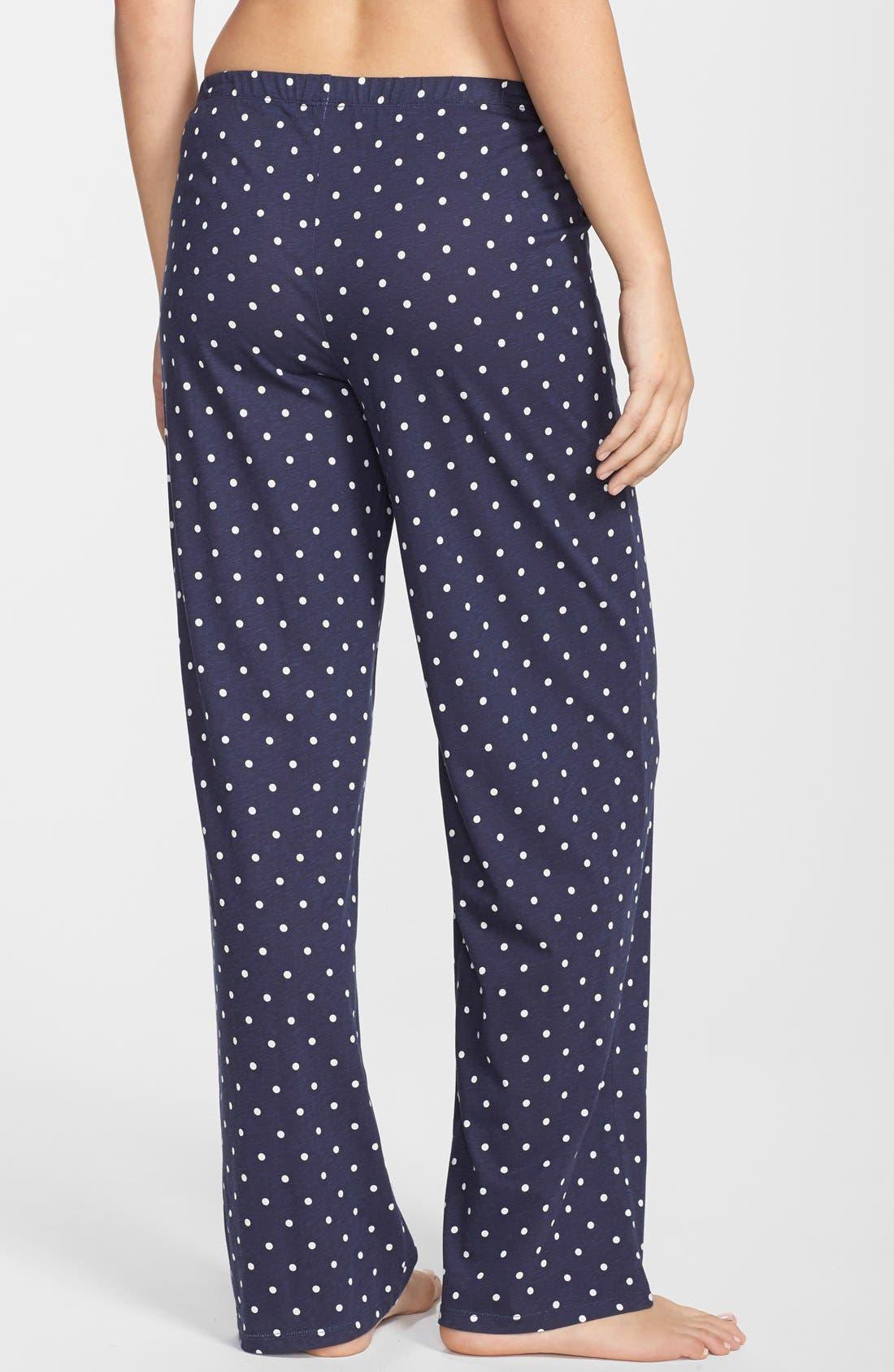 Alternate Image 2  - Lauren Ralph Lauren Dot Lounge Pants