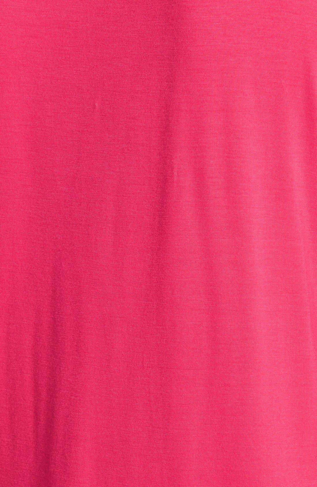 Mixed Media Tunic,                             Alternate thumbnail 3, color,                             Pink Polish