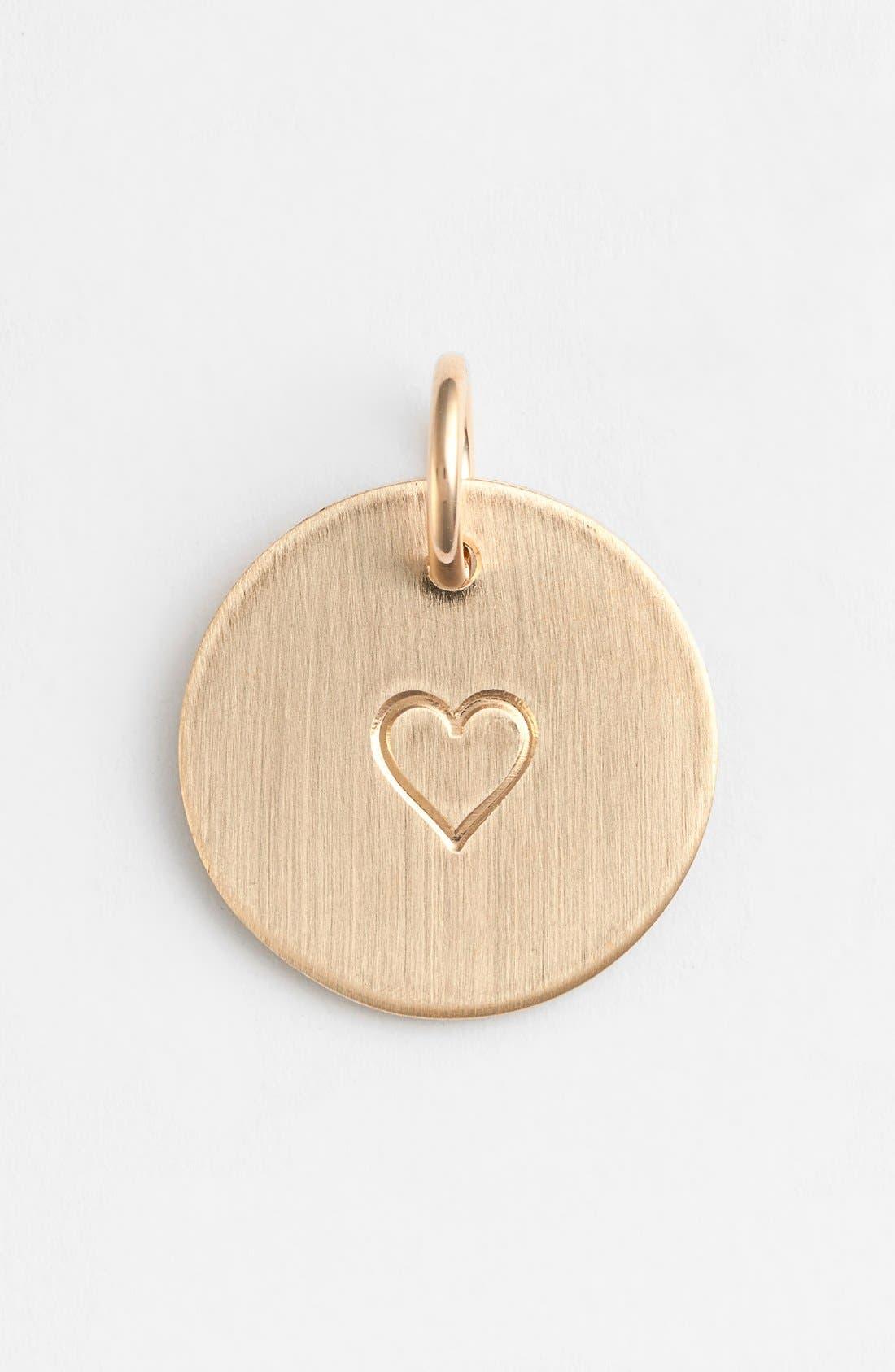 Nashelle Heart Stamp Charm