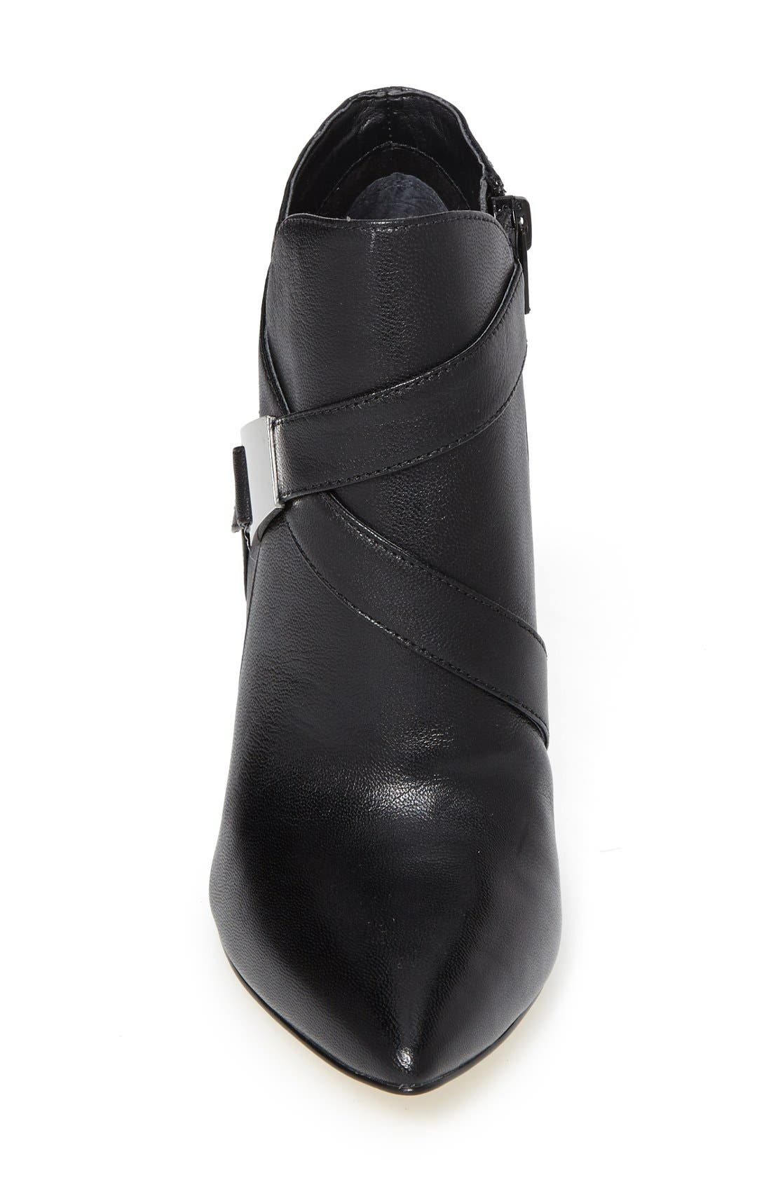 Alternate Image 3  - GUESS 'Valari' Leather Pointy Toe Bootie (Women)