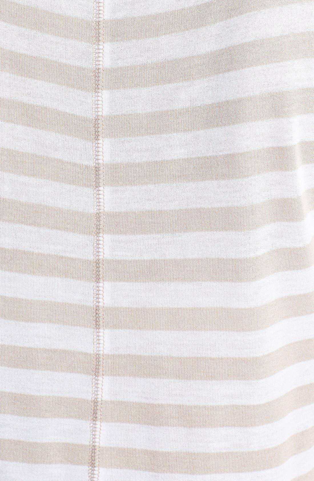 Alternate Image 3  - Halogen® Short Sleeve Scoop Neck Tee (Regular & Petite)