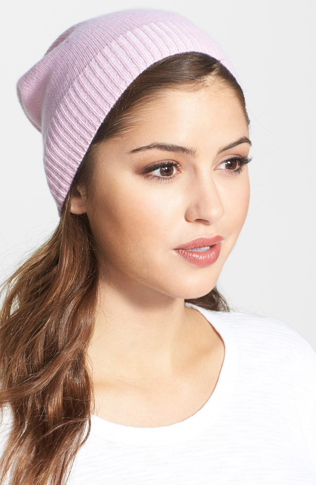 Main Image - Echo Slouchy Cashmere Beanie