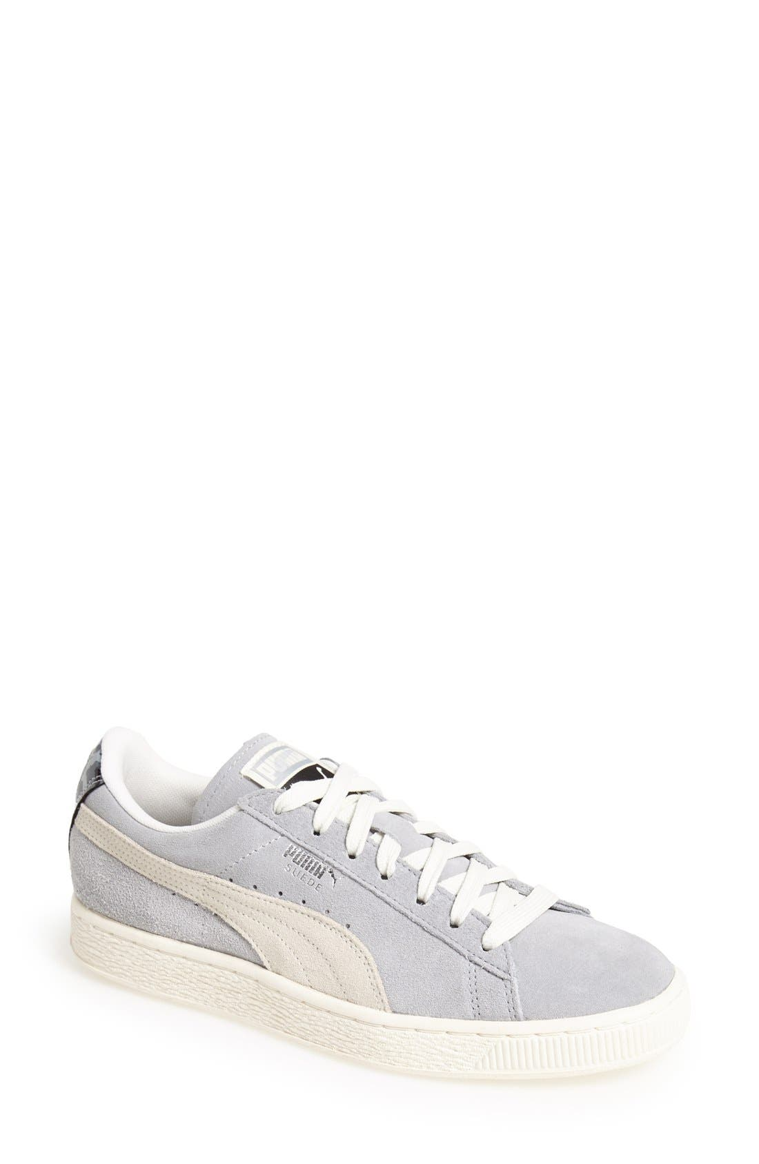 Alternate Image 1 Selected - PUMA 'Classic' Suede Sneaker (Women)