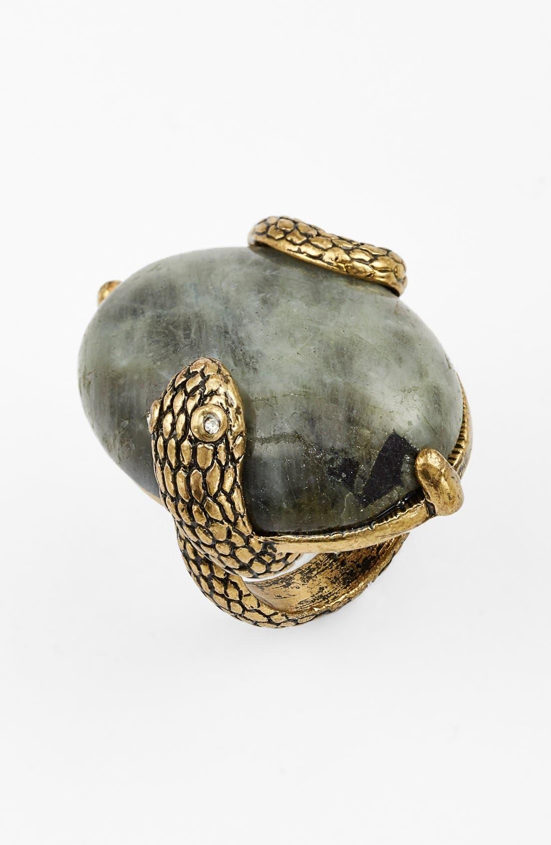 Main Image - Berry 'Snake' Quartz Ring