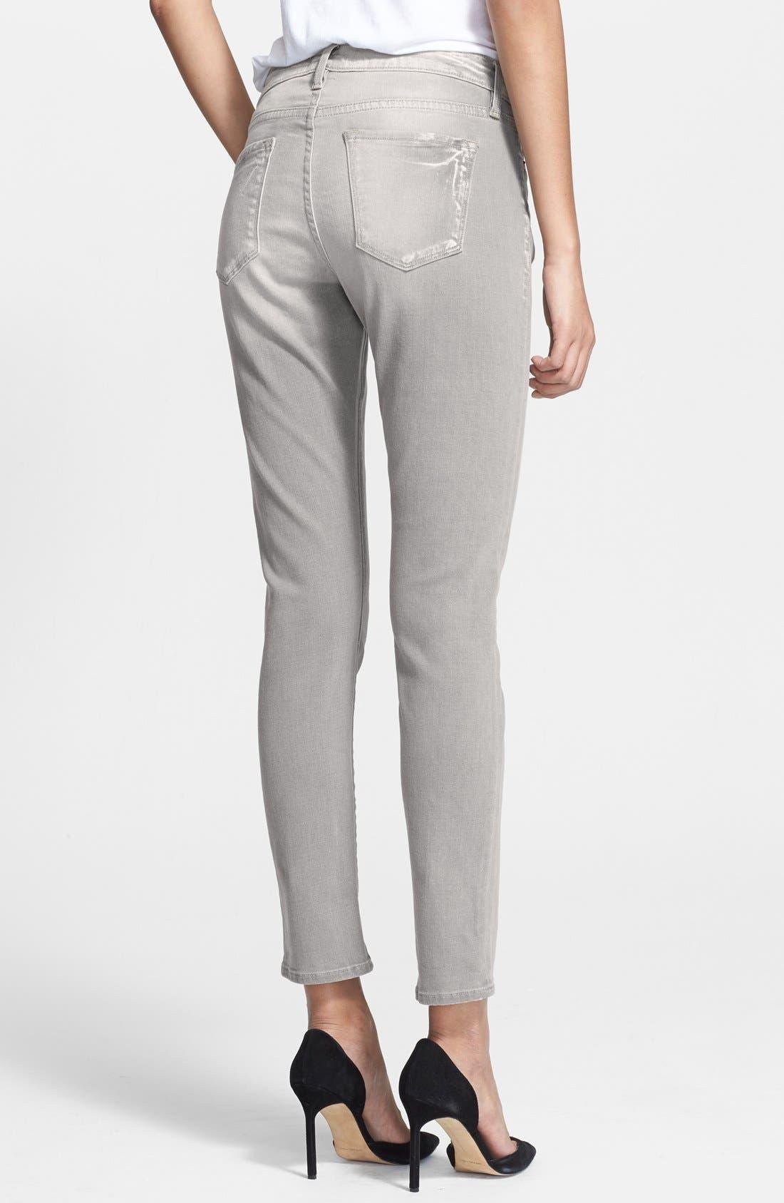 Alternate Image 2  - Frame Denim 'Le Garcon' Slim Boyfriend Jeans (Kensington)