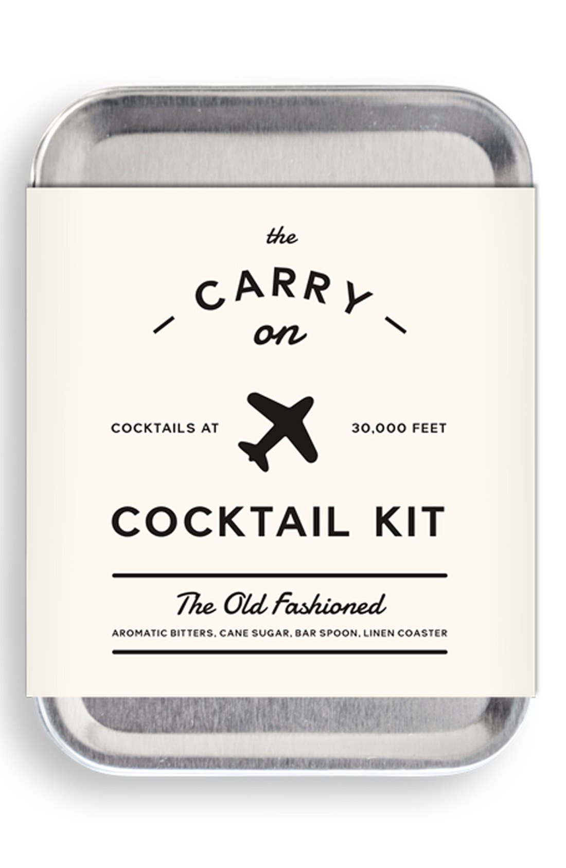 W&P DESIGN Carry-On Cocktail Kit,                             Alternate thumbnail 2, color,                             Old Fashioned