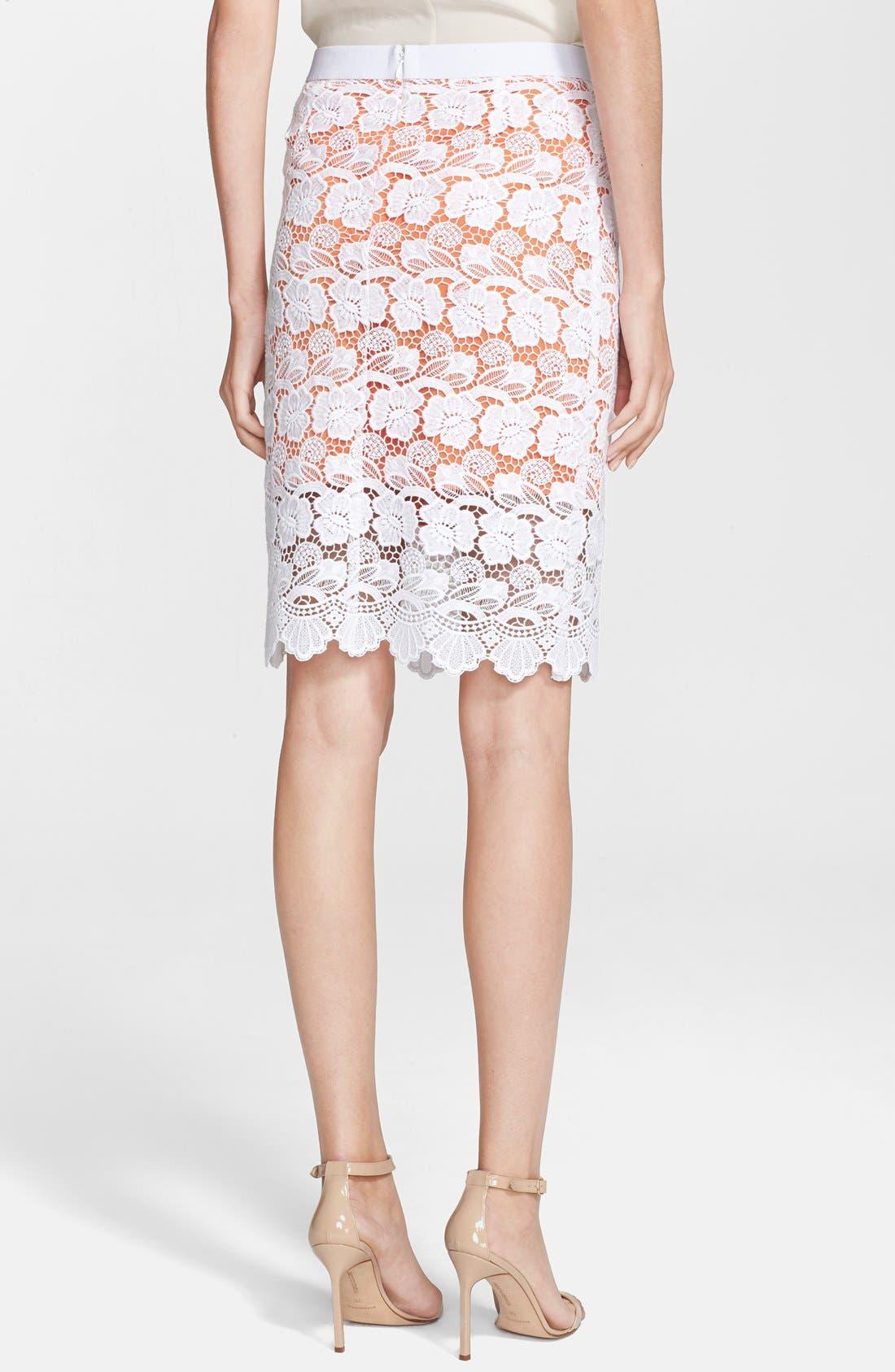 Alternate Image 2  - Rebecca Minkoff 'Angelica' Lace Pencil Skirt