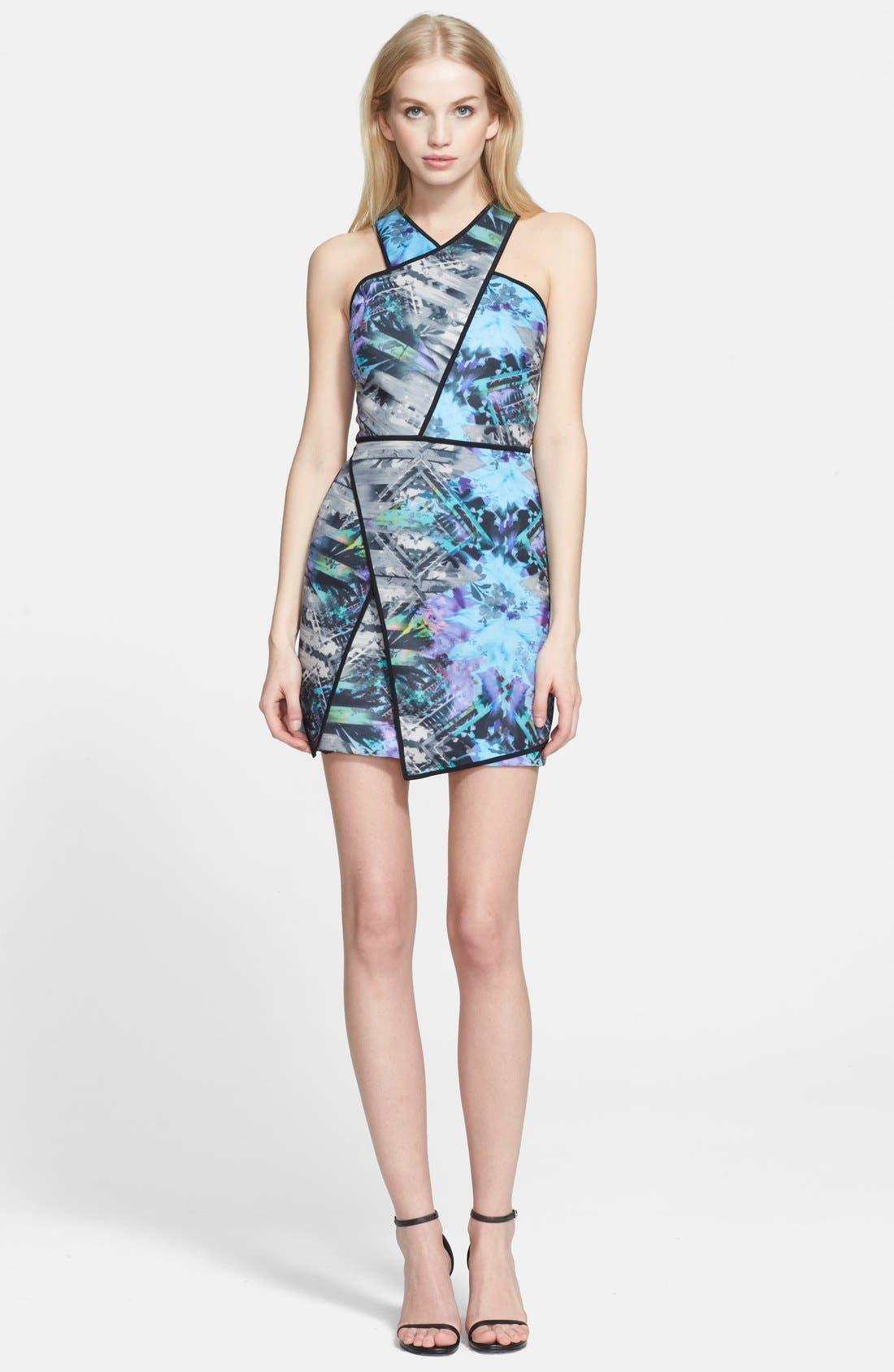Main Image - Parker 'Tobias' Asymmetrical Body-Con Dress