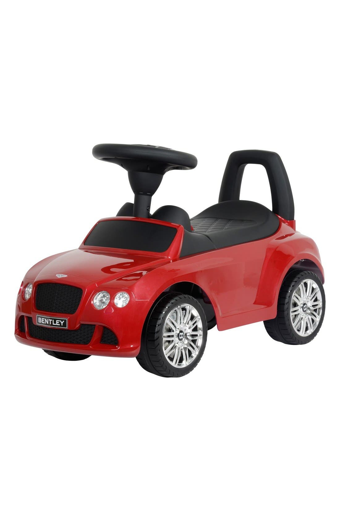 'Bentley' Ride-On Push Car,                         Main,                         color, Red