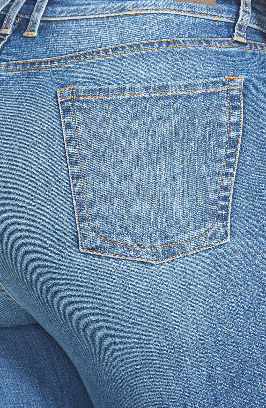 Alternate Image 3  - KUT from the Kloth 'Diana' Stretch Skinny Jeans (Contingent) (Plus Size)
