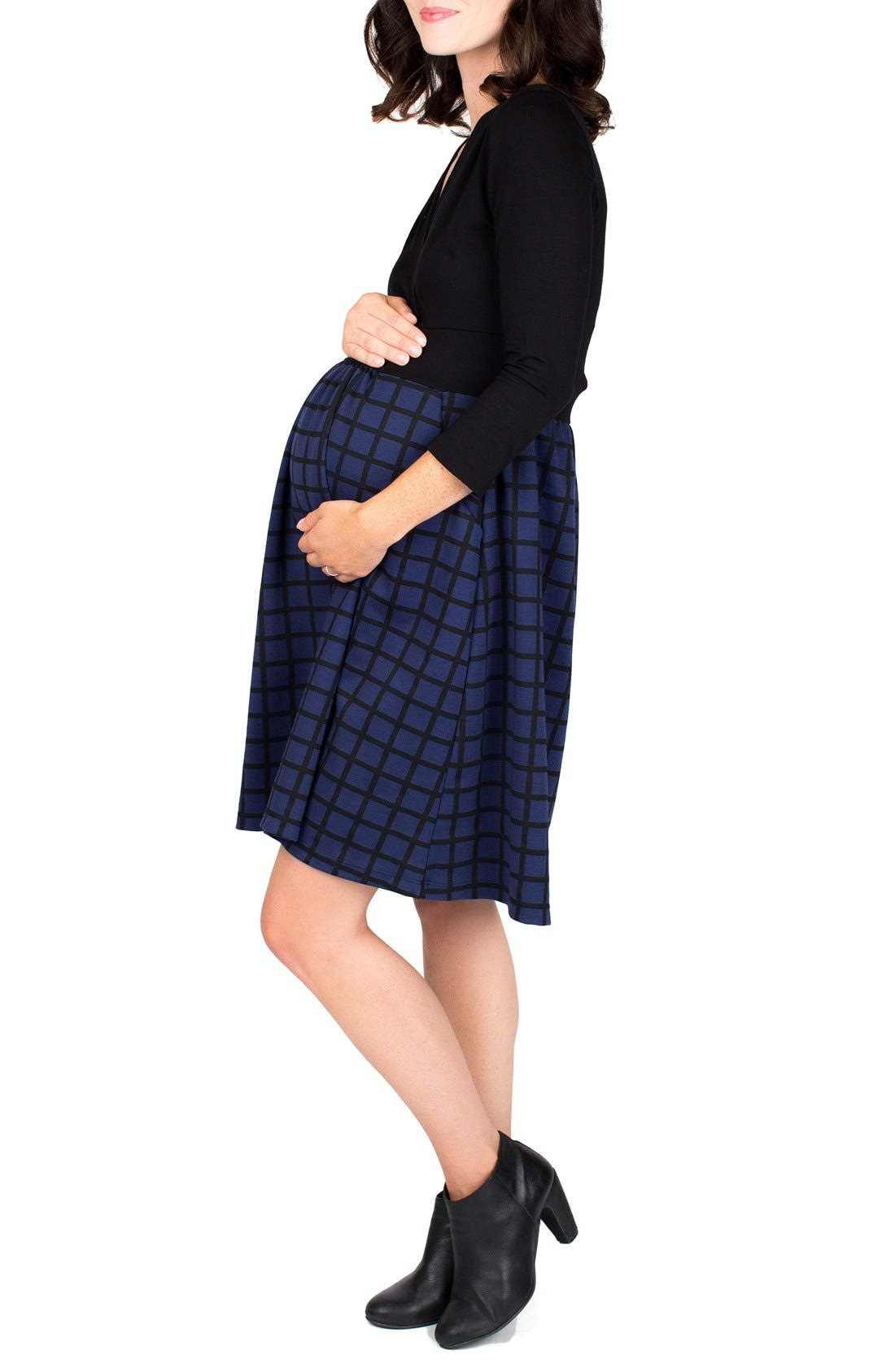 Alternate Image 3  - Nom 'Nora' Surplice Maternity/Nursing Dress