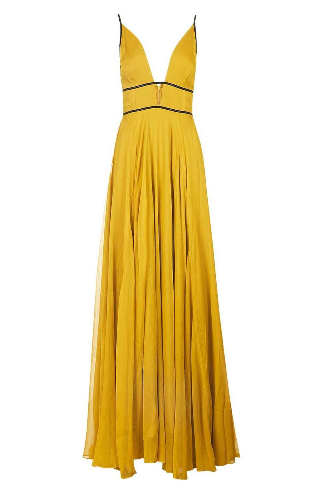Alternate Image 5  - Topshop Beaded Maxi Dress
