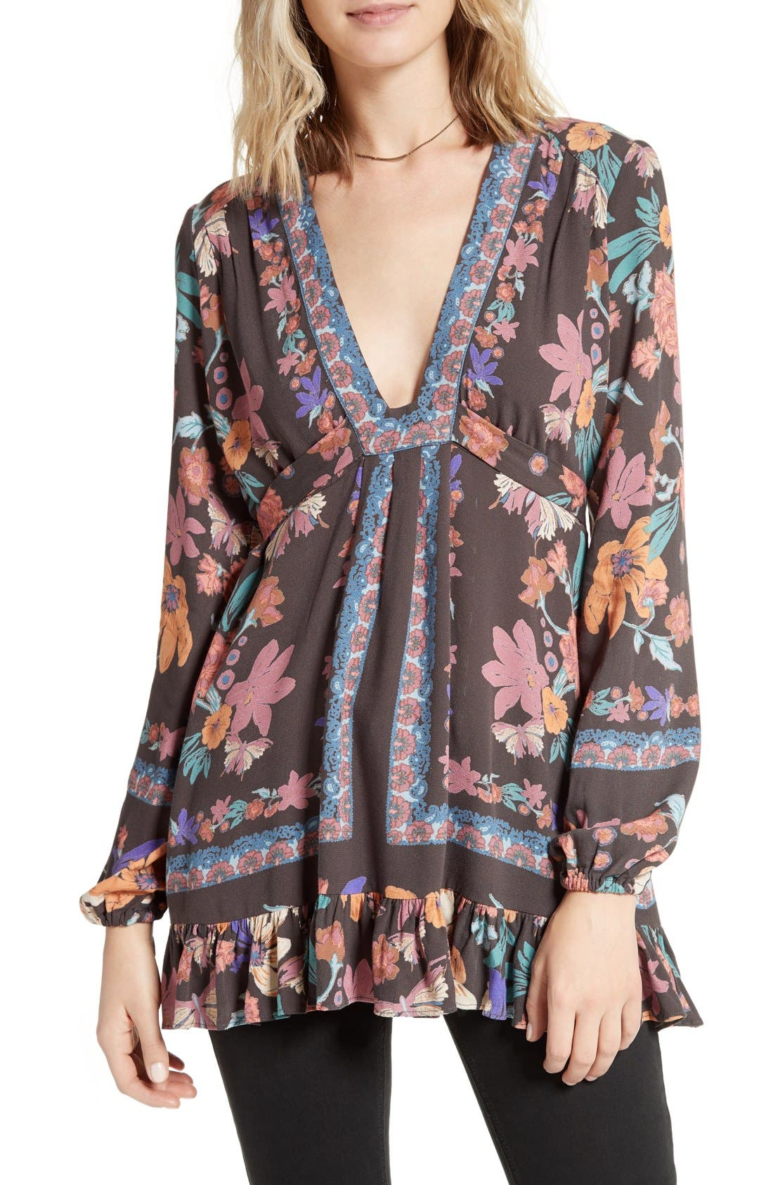 Alternate Image 1 Selected - Free People Violet Hill Tunic
