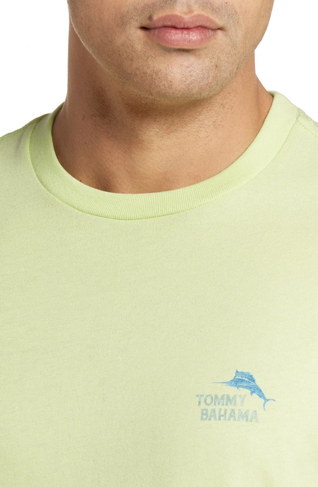 Alternate Image 4  - Tommy Bahama Keeping It Rio Graphic T-Shirt (Big & Tall)