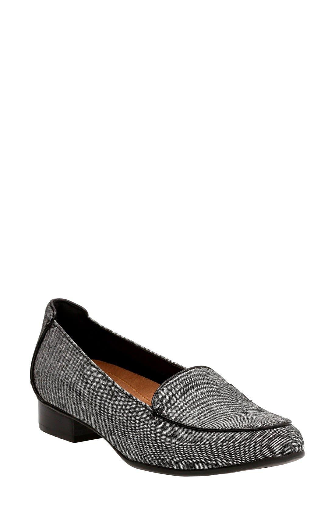 Alternate Image 1 Selected - Clarks®'KeeshaLuca' Loafer (Women)