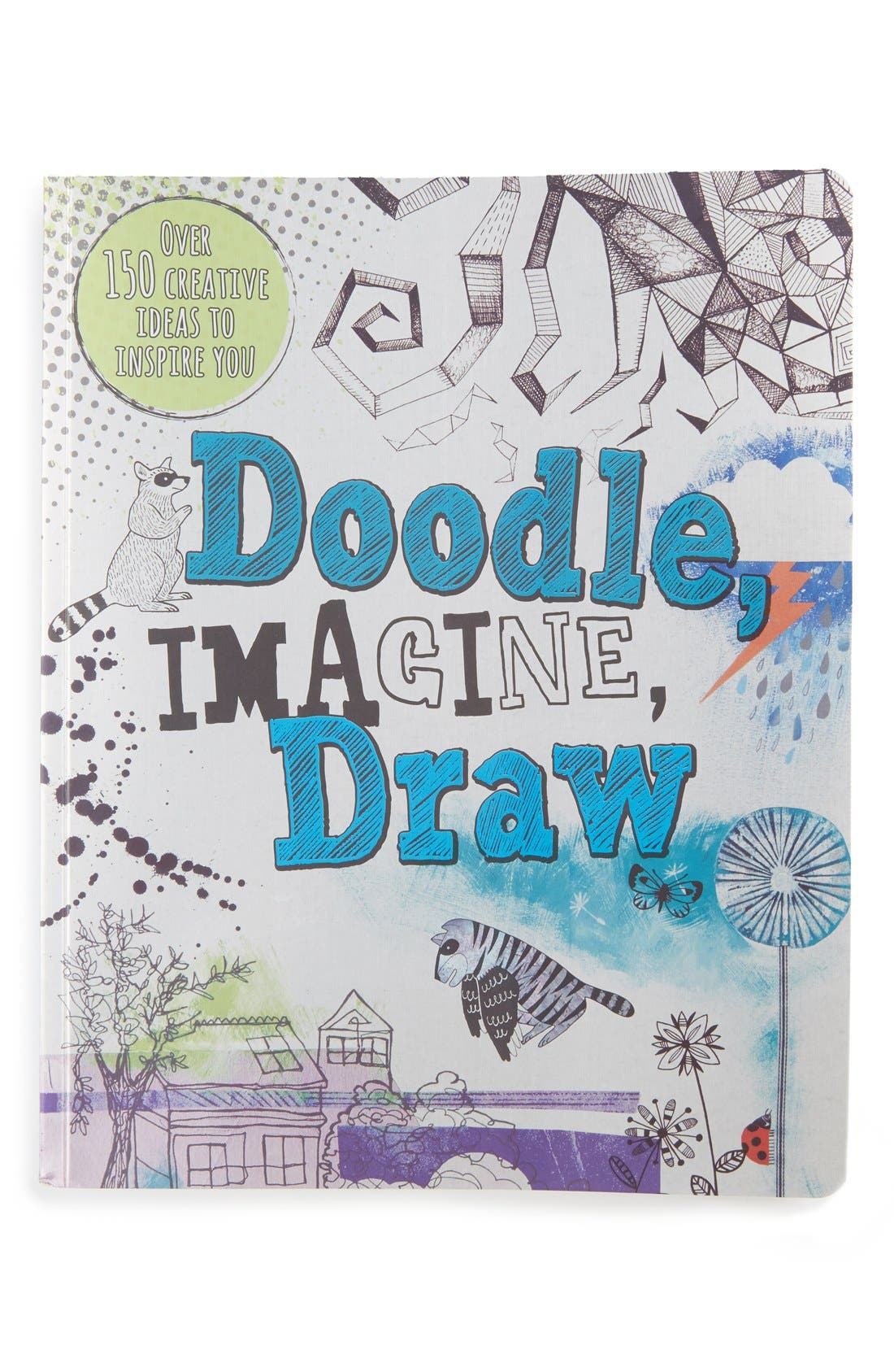 Alternate Image 1 Selected - Parragon Books Doodle, Imagine, Draw Book