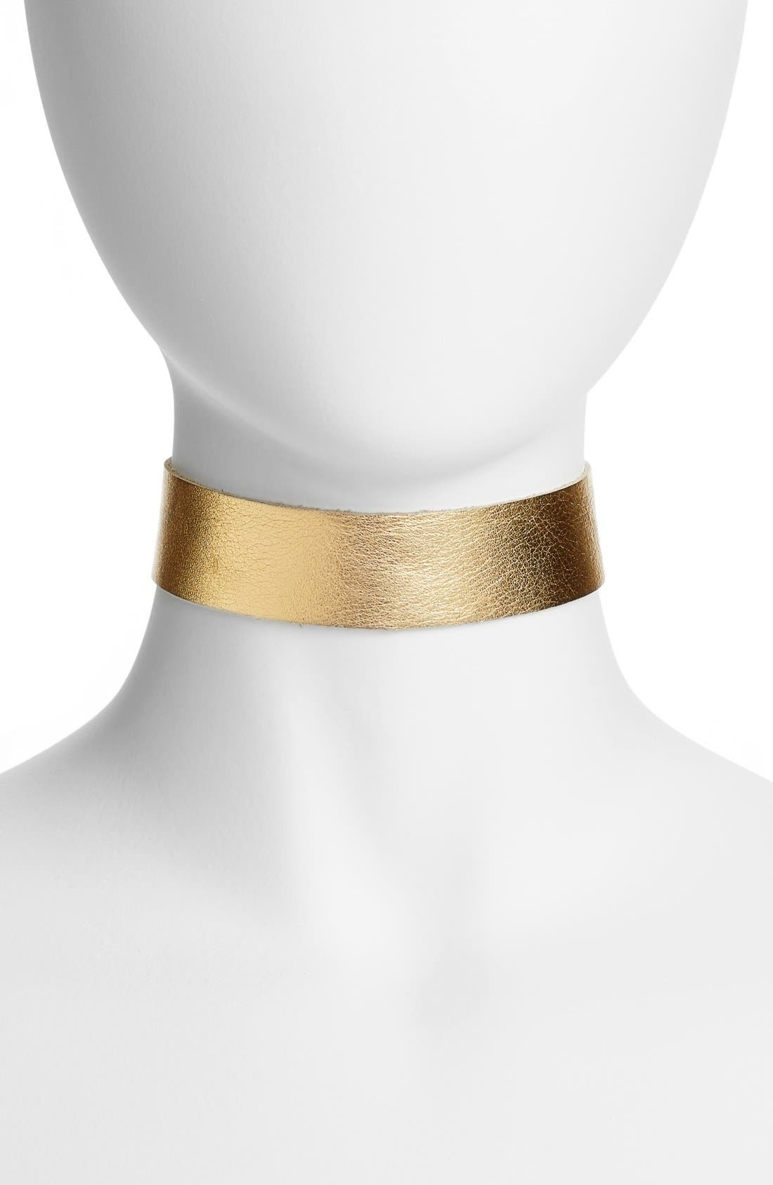 Main Image - FRASIER STERLING Born to Be Wild Leather Choker