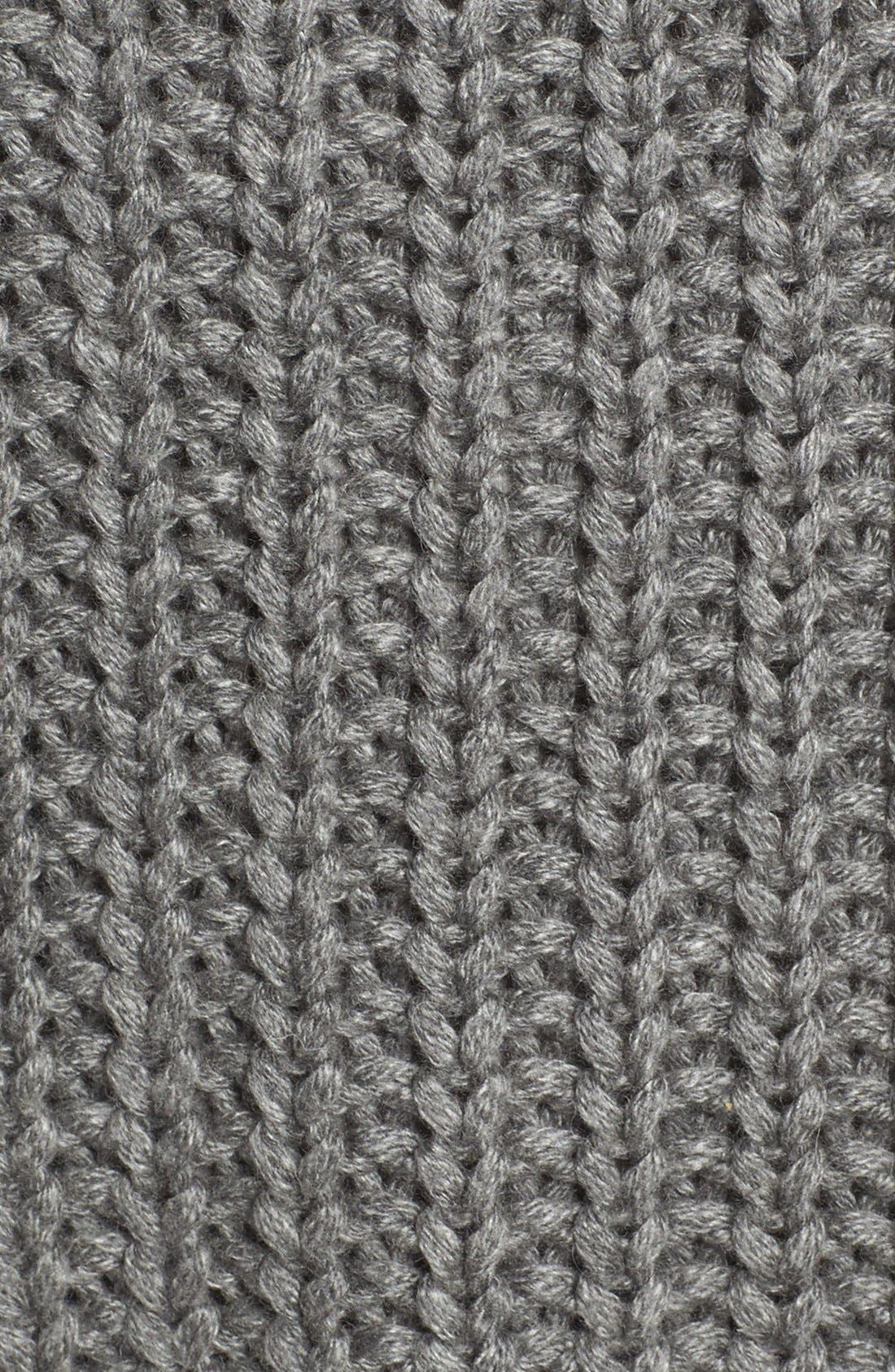 Page Sweater,                             Alternate thumbnail 5, color,                             Grey