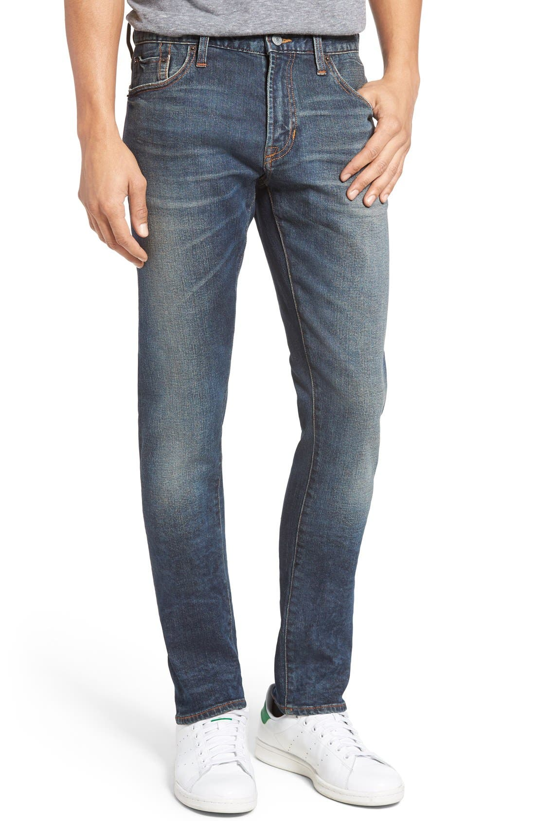 JEAN SHOP Jim Slim Fit Selvedge Jeans