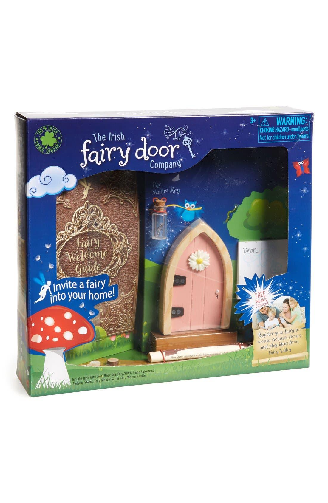 Irish Fairy Door,                         Main,                         color, Pink