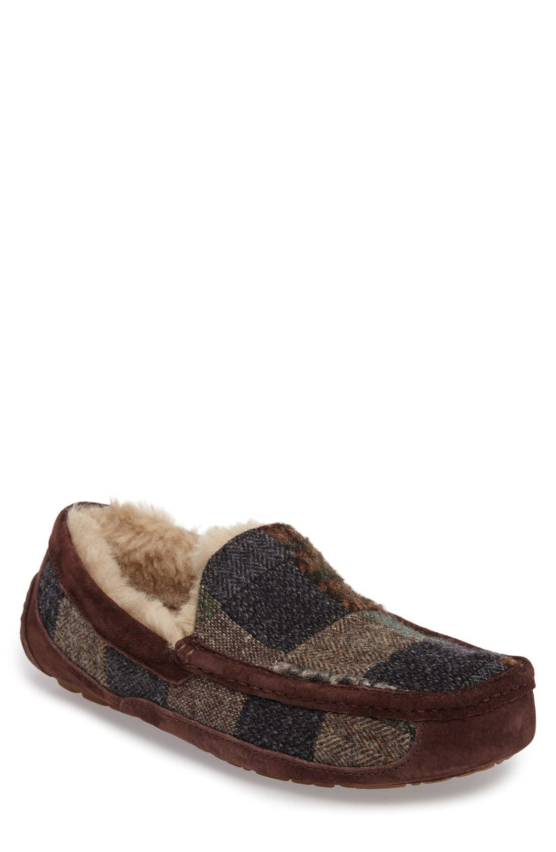 Alternate Image 1 Selected - UGG® Ascot UGGpure Slipper (Men)