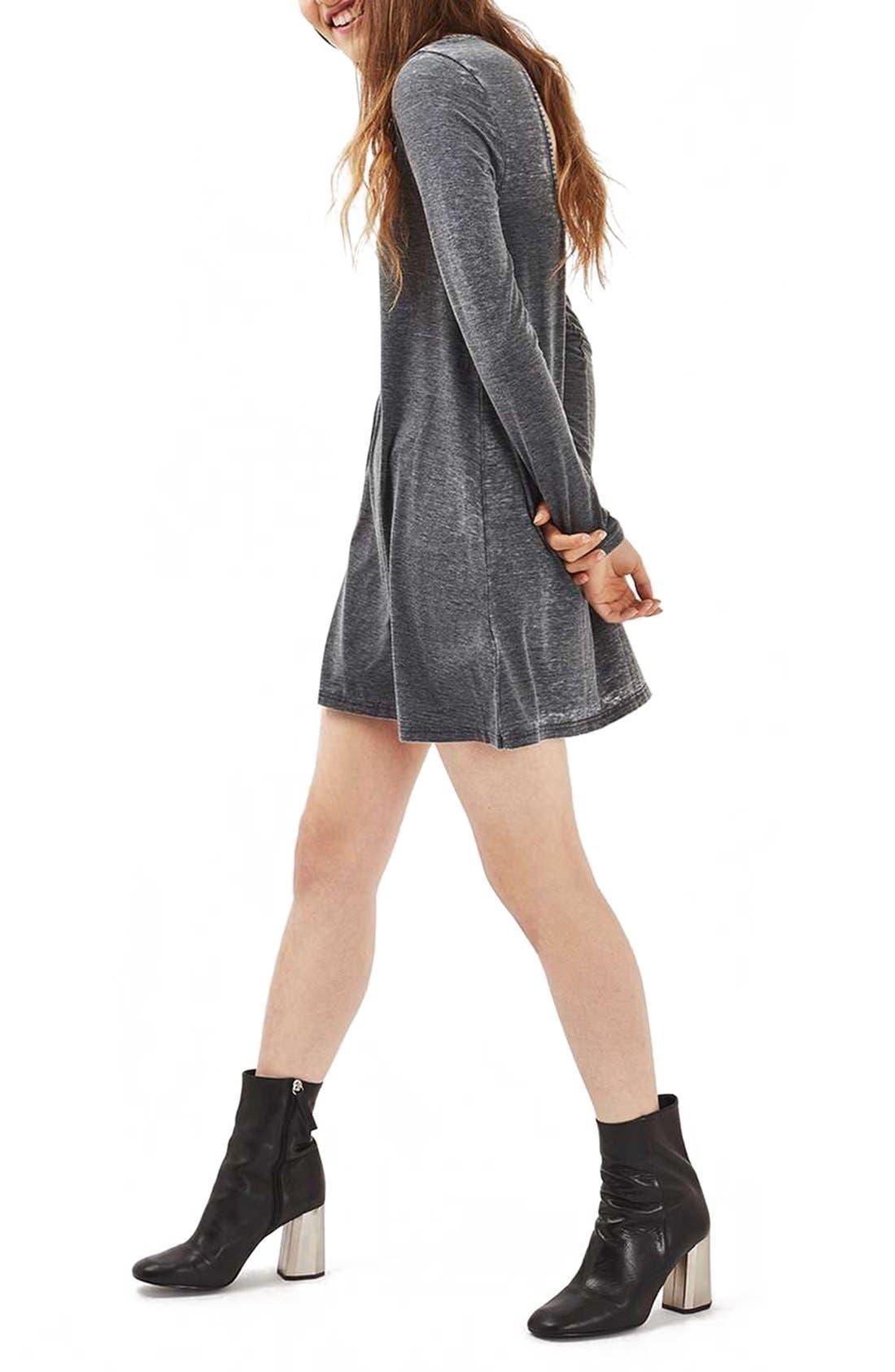 Alternate Image 3  - Topshop Open Back Tunic Dress