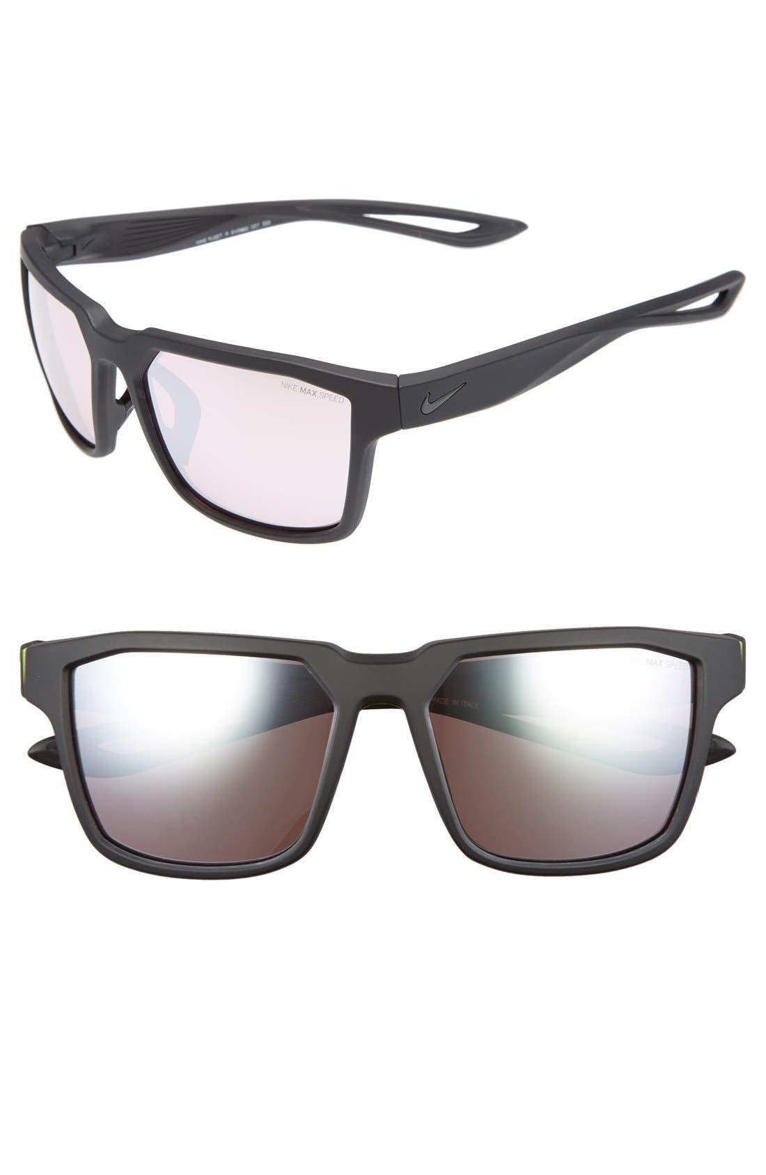 Main Image - Nike Fleet 55mm Sport Sunglasses