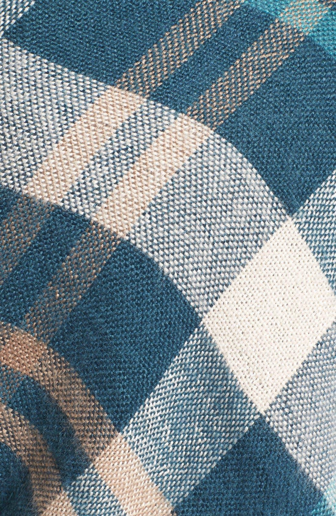 Alternate Image 5  - Treasure&Bond Plaid Blanket Wrap