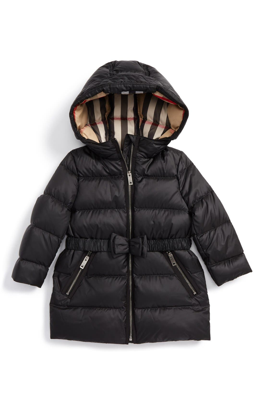 Burberry Consillia Down Parka (Baby Girls)