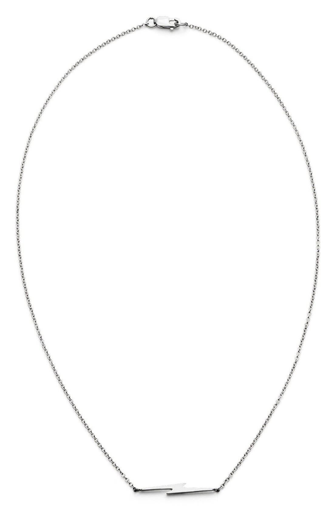 Shinola Bolt Necklace