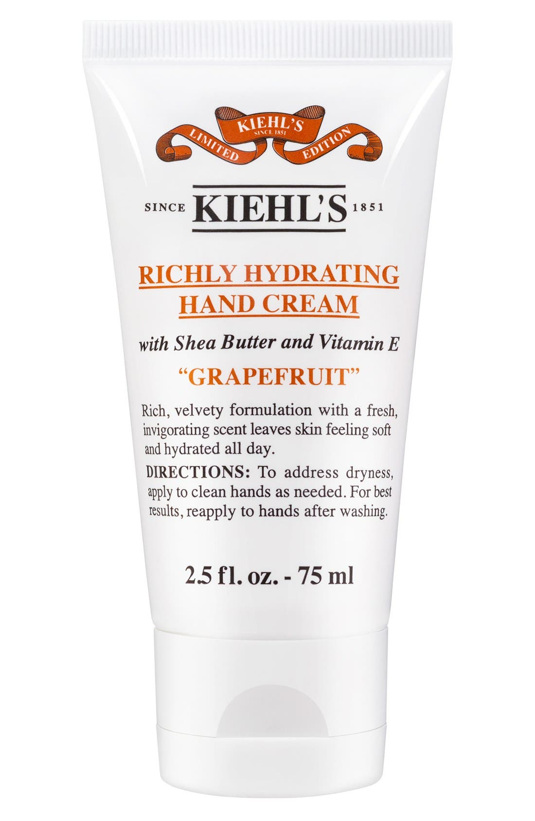 Kiehl's Since 1851 Grapefruit Richly Hydrating Scented Hand Cream