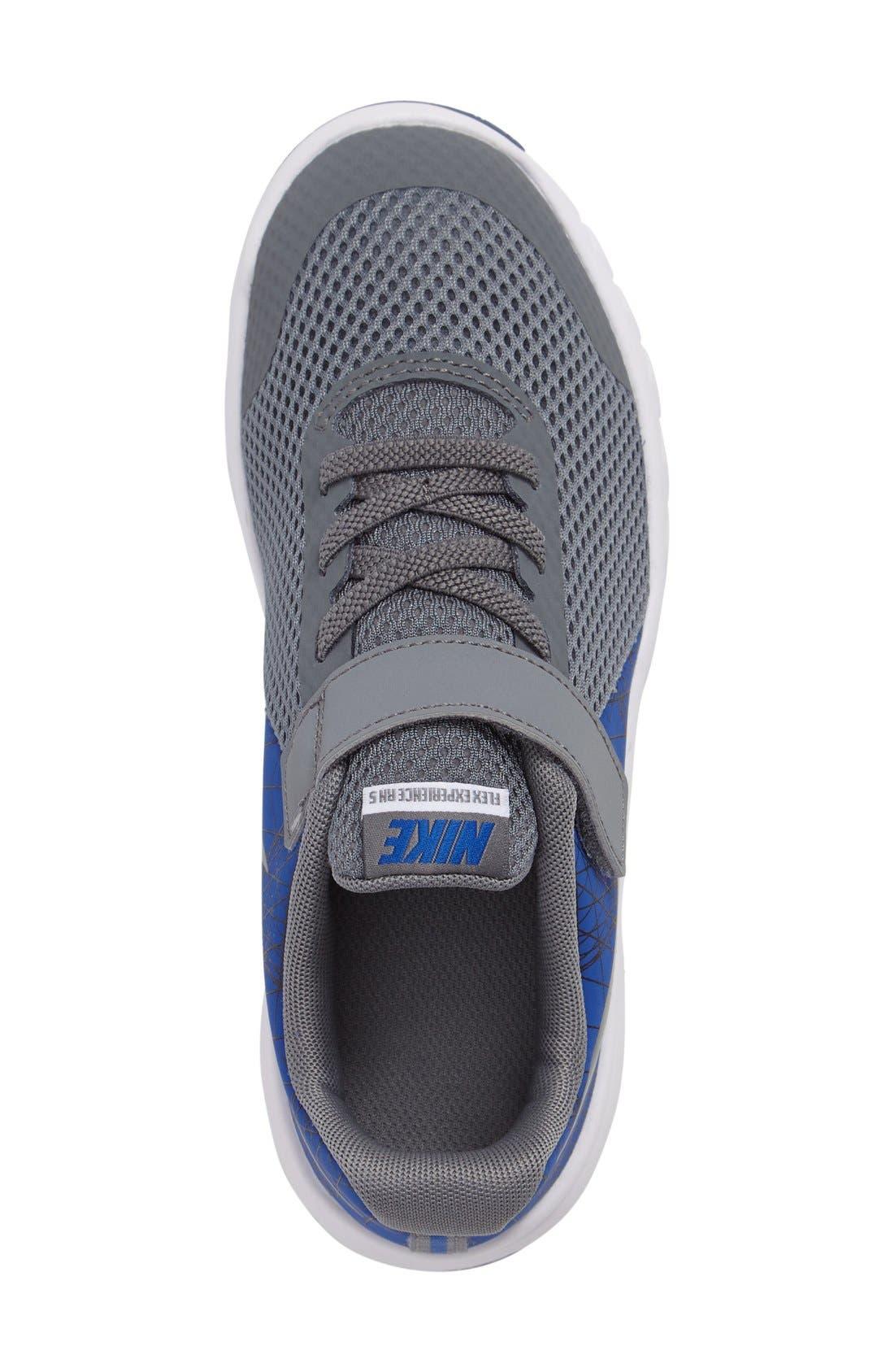 Alternate Image 3  - Nike 'Flex Experience 5 Print' Running Shoe (Toddler & Little Kid)