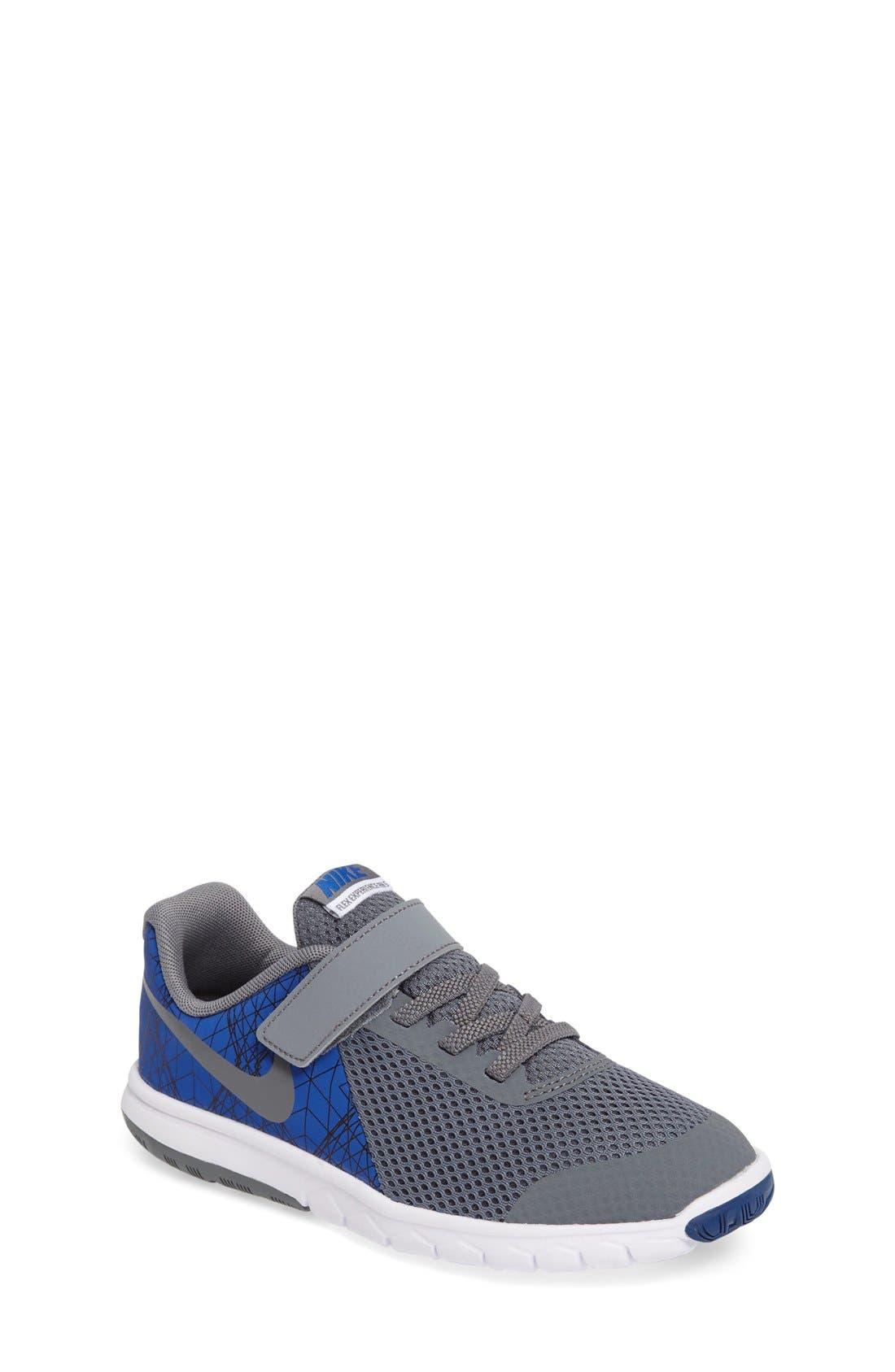 Alternate Image 1 Selected - Nike 'Flex Experience 5 Print' Running Shoe (Toddler & Little Kid)