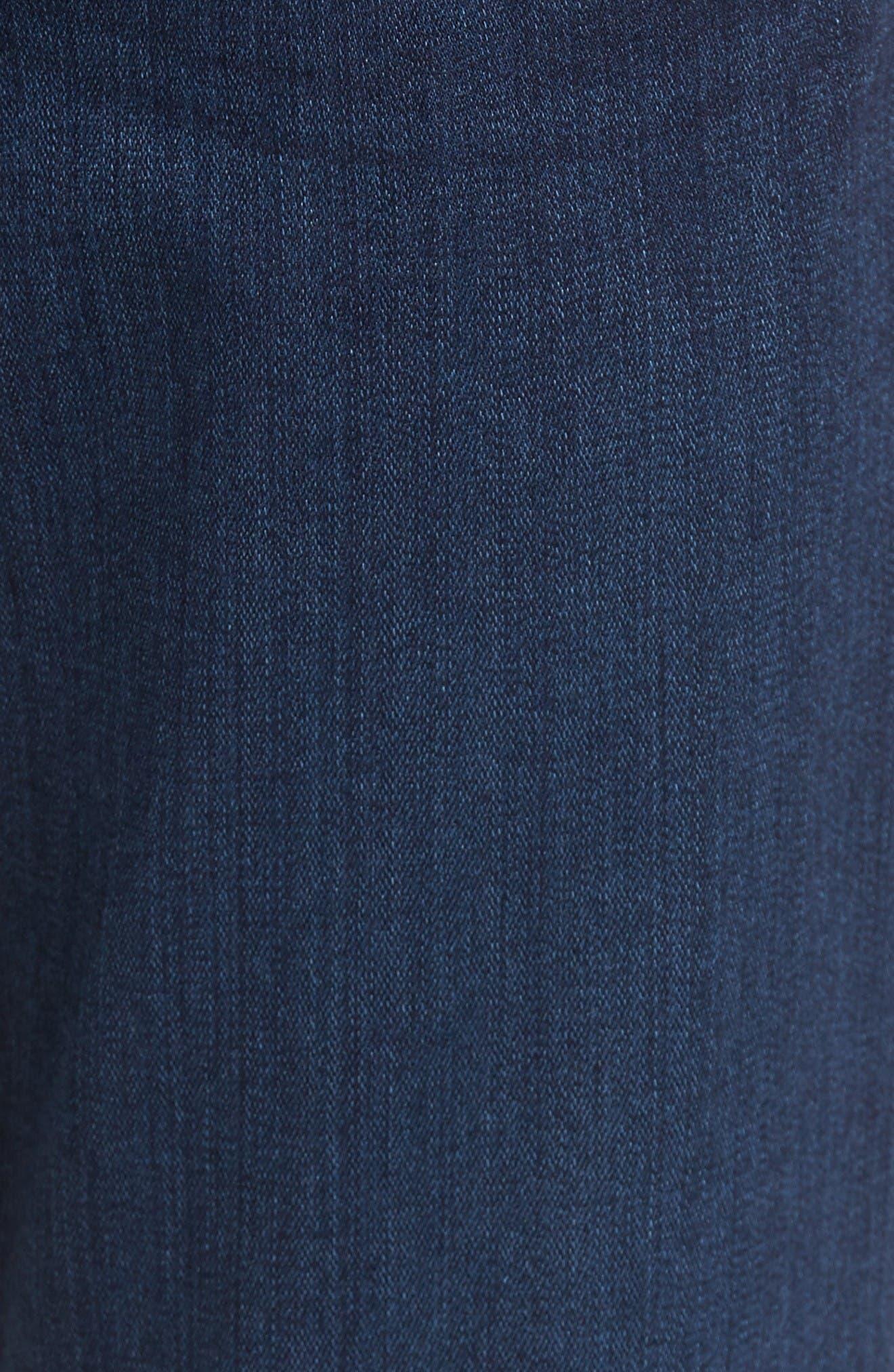 Alternate Image 6  - PAIGE Transcend - Federal Slim Straight Leg Jeans (Scott)
