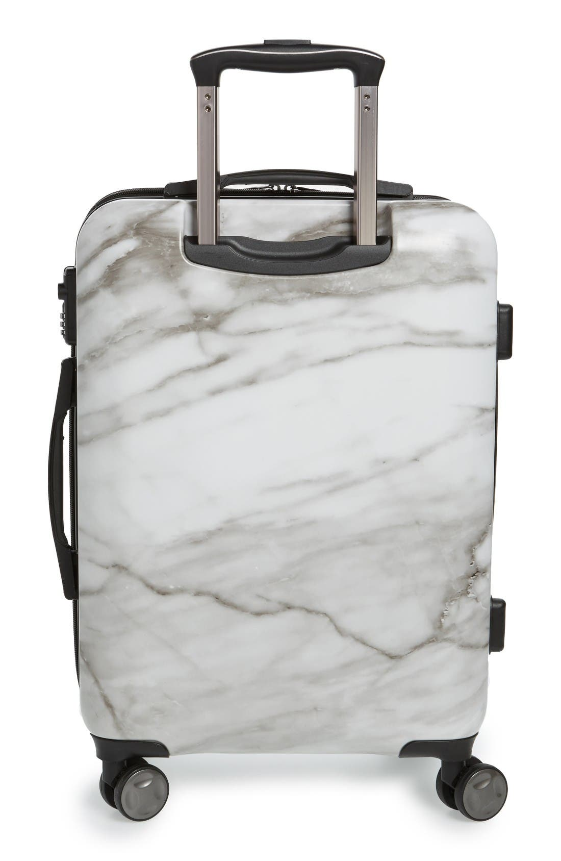 Astyll 22-Inch Rolling Spinner Carry-On,                             Alternate thumbnail 2, color,                             Milk Marble