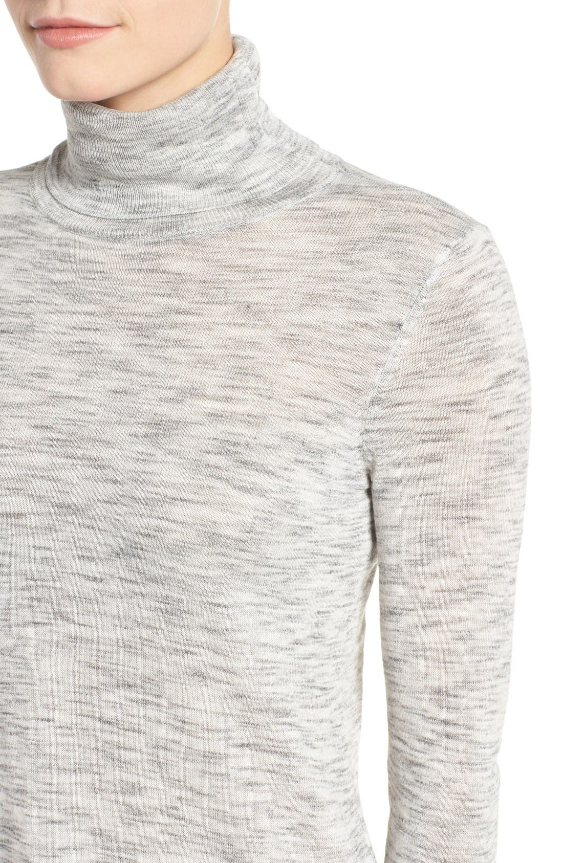 Alternate Image 4  - Dex Turtleneck Tunic Sweater