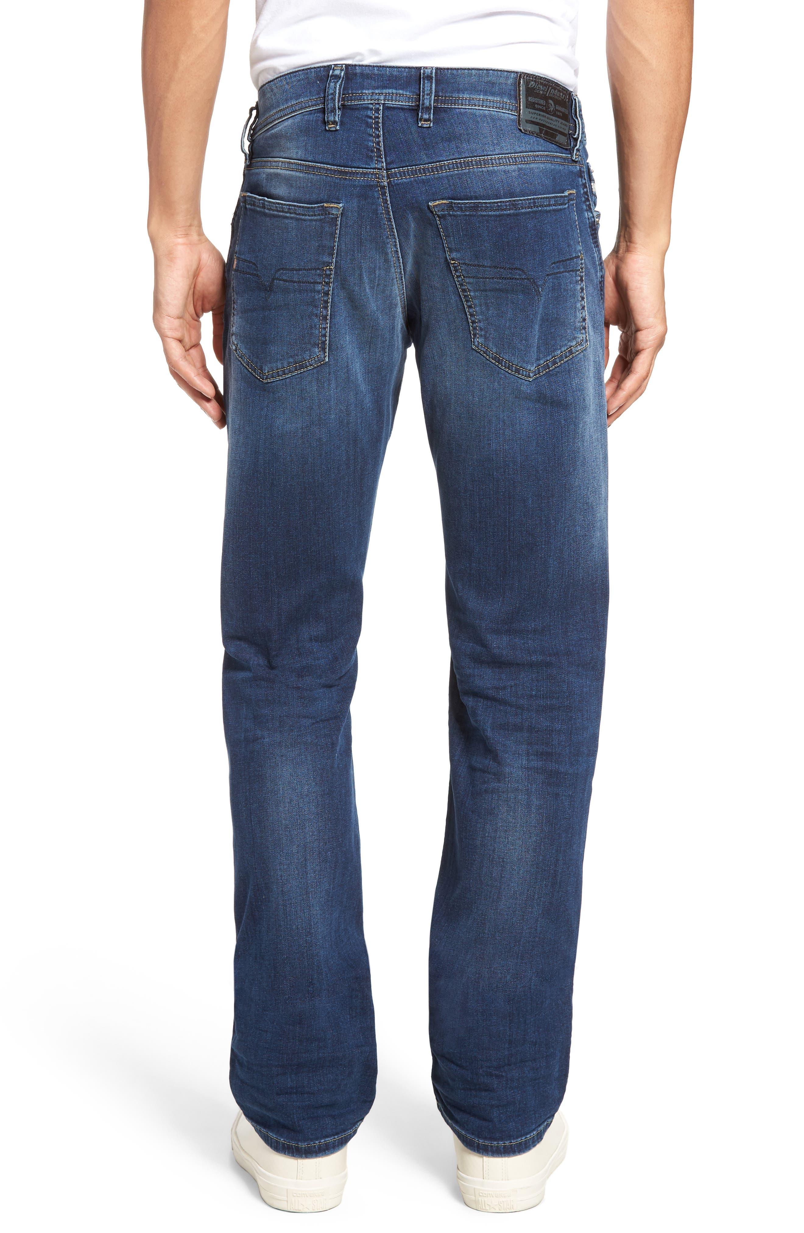 Waykee Straight Leg Jeans,                             Alternate thumbnail 2, color,                             0679I
