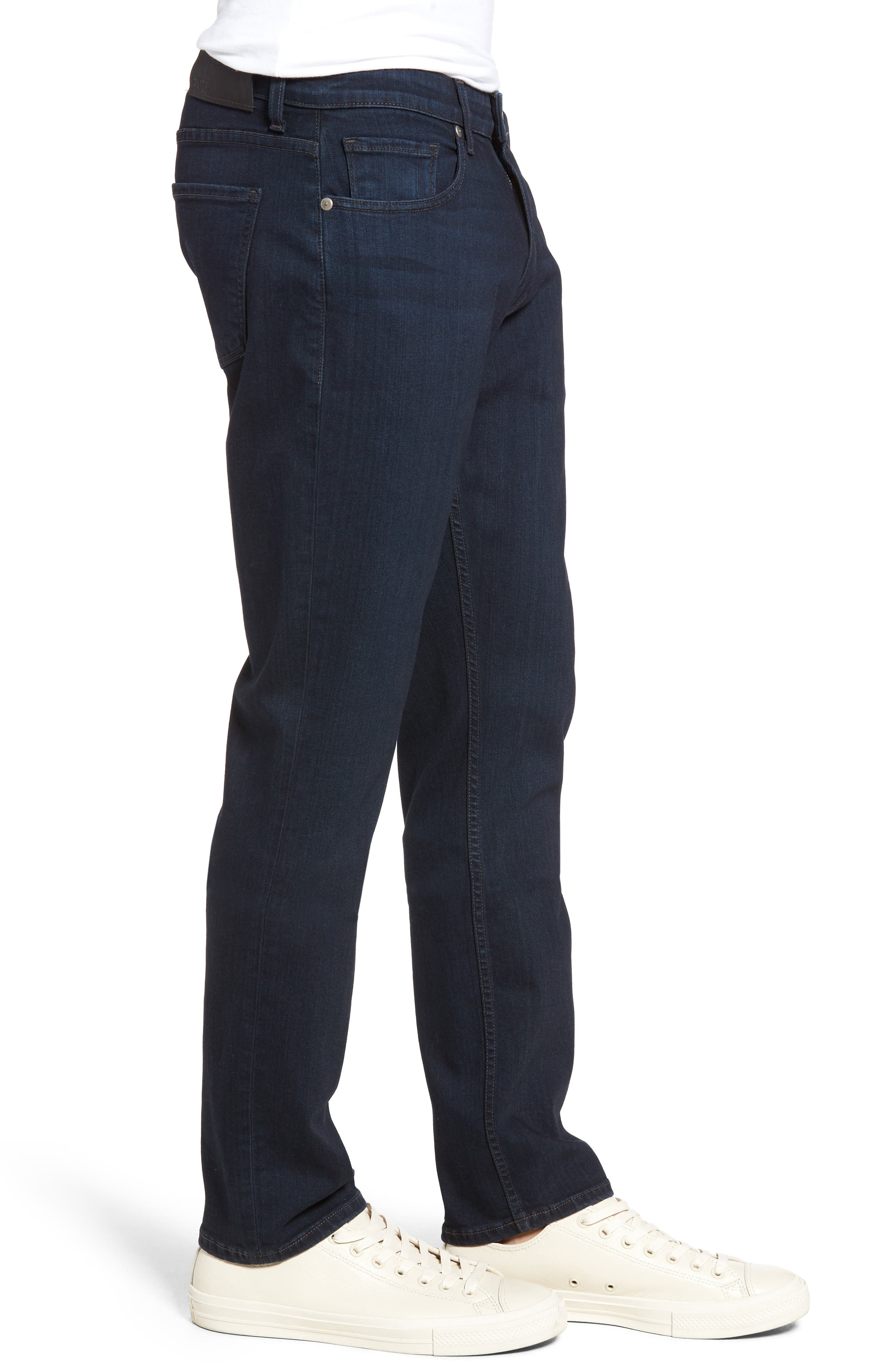 Normandie Straight Leg Jeans,                             Alternate thumbnail 3, color,                             Arlo
