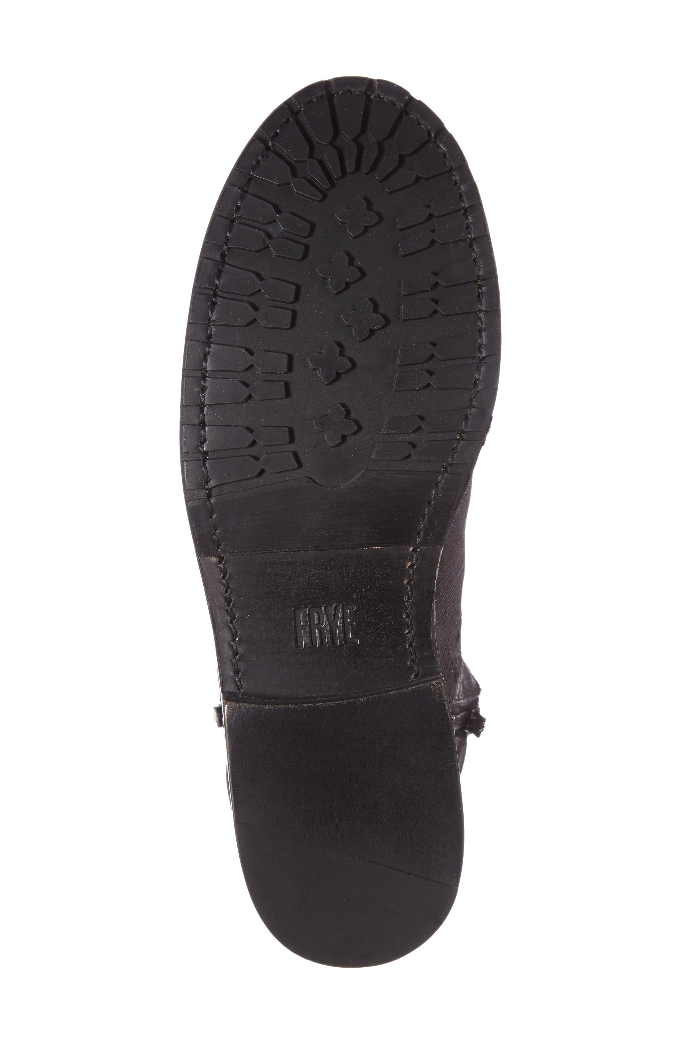 Alternate Image 4  - Frye Natalie Textured Double Zip Bootie (Women)