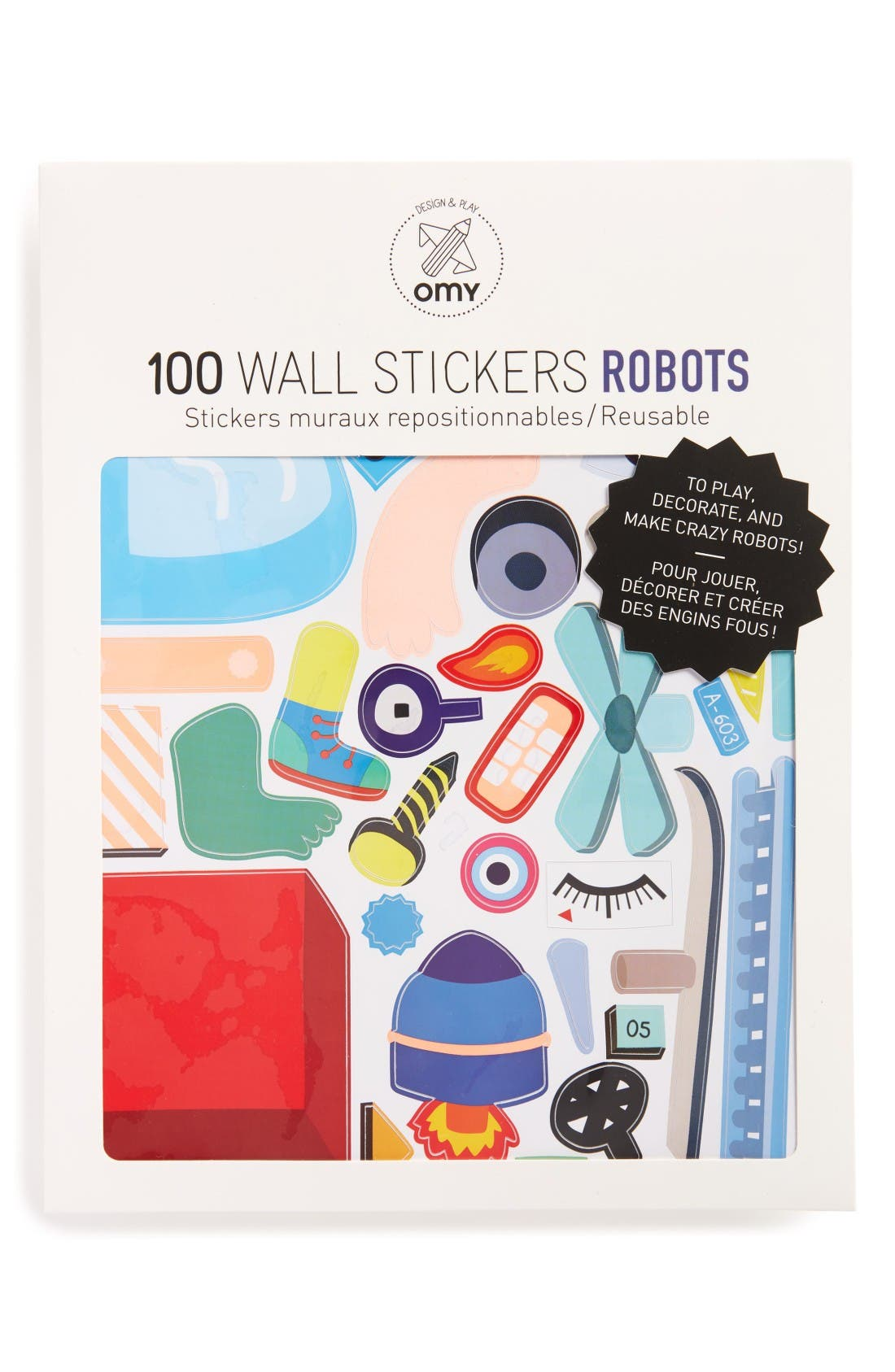 OMY Robot Wall Stickers