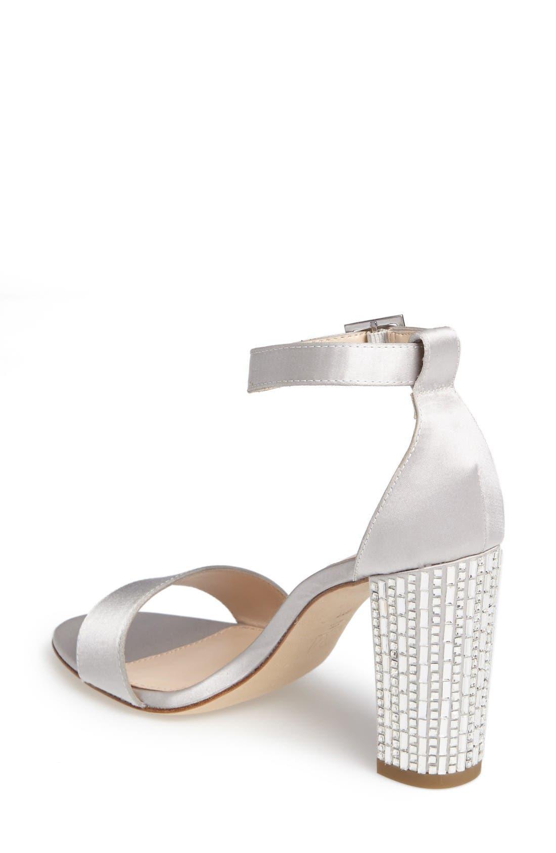 Alternate Image 2  - Pelle Moda Bonnie 3 Embellished Ankle Strap Sandal (Women)