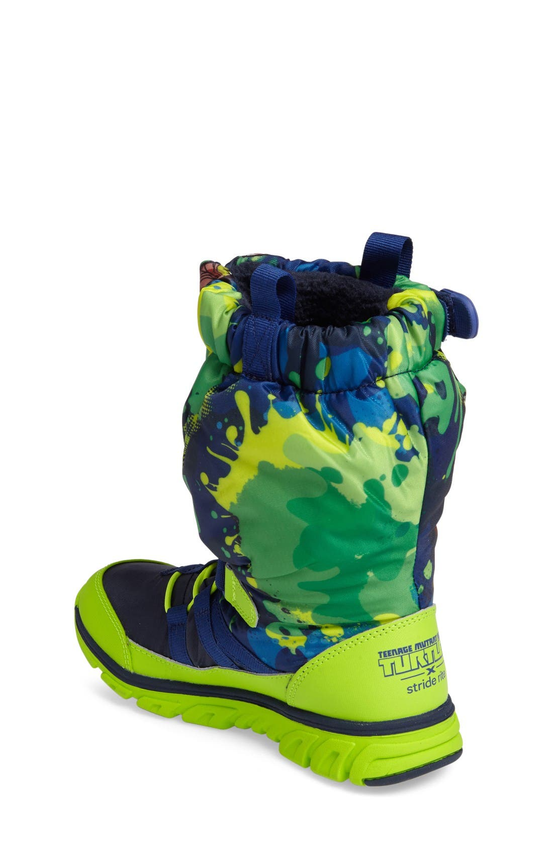 Alternate Image 2  - Stride Rite Made2Play Teenage Mutant Ninja Turtles Sneaker Boot (Baby, Walker, Toddler & Little Kid)