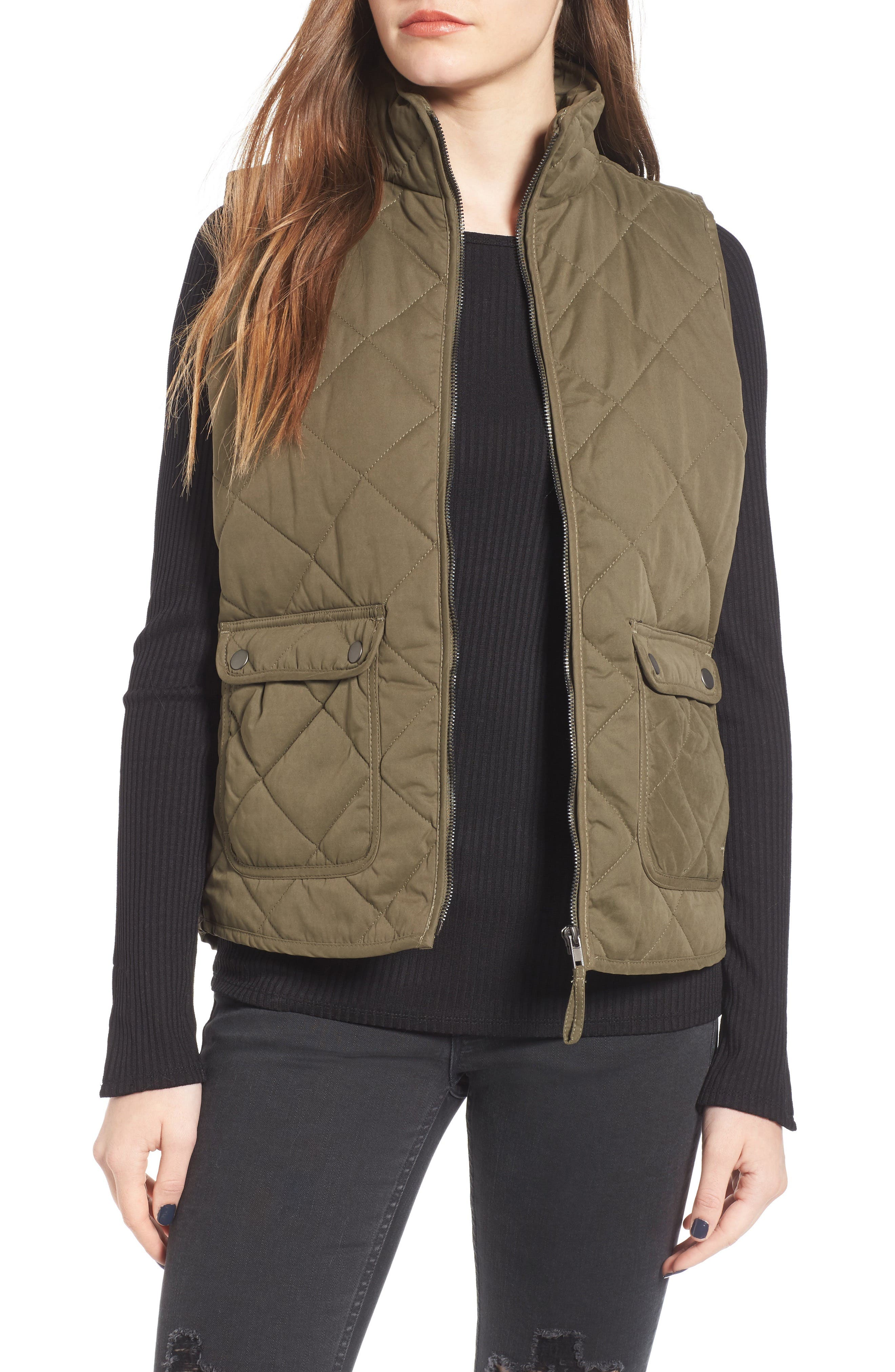 Main Image - Thread & Supply Lancaster Quilted Vest