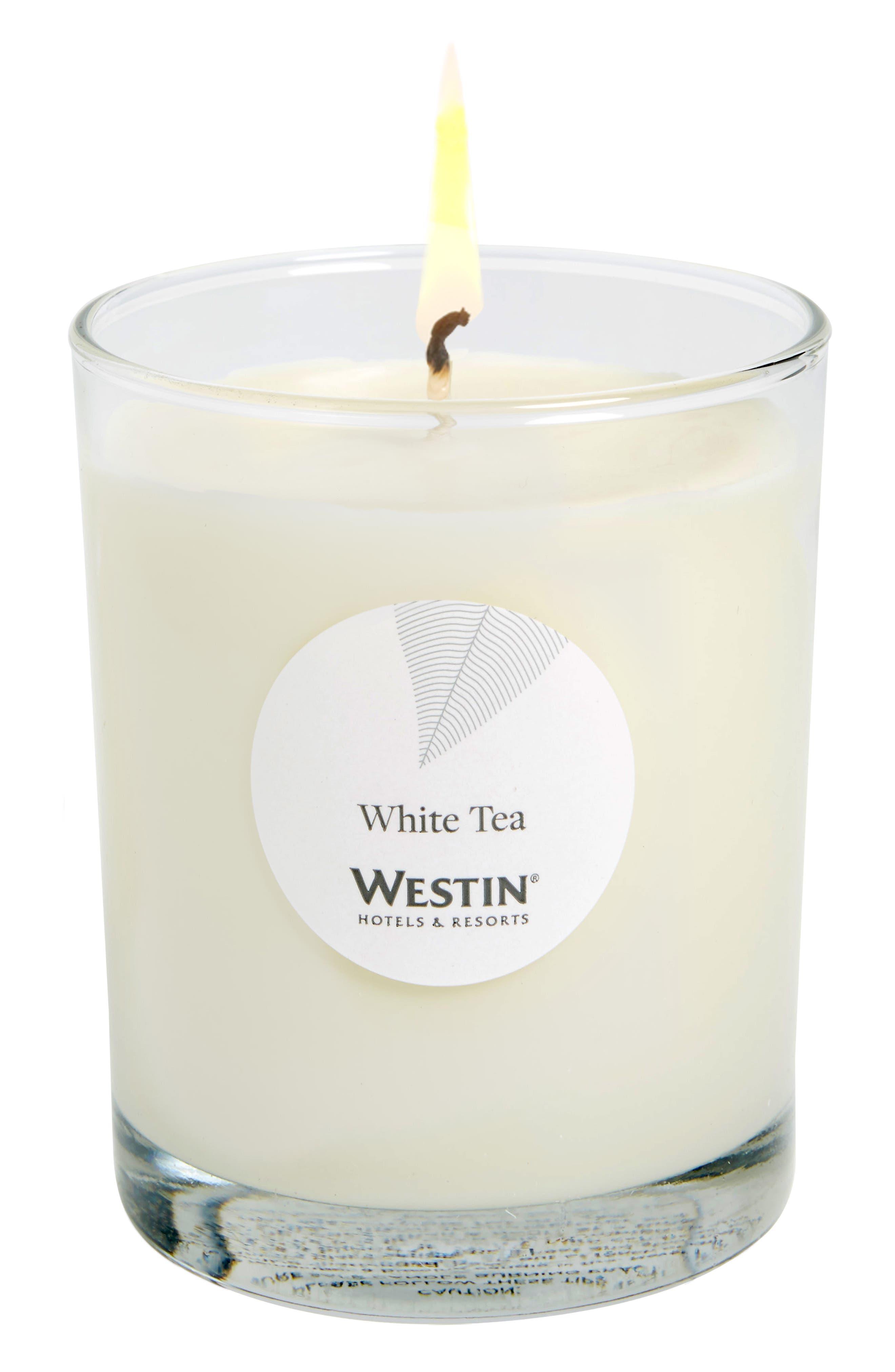 White Tea Candle,                         Main,                         color, White Tea