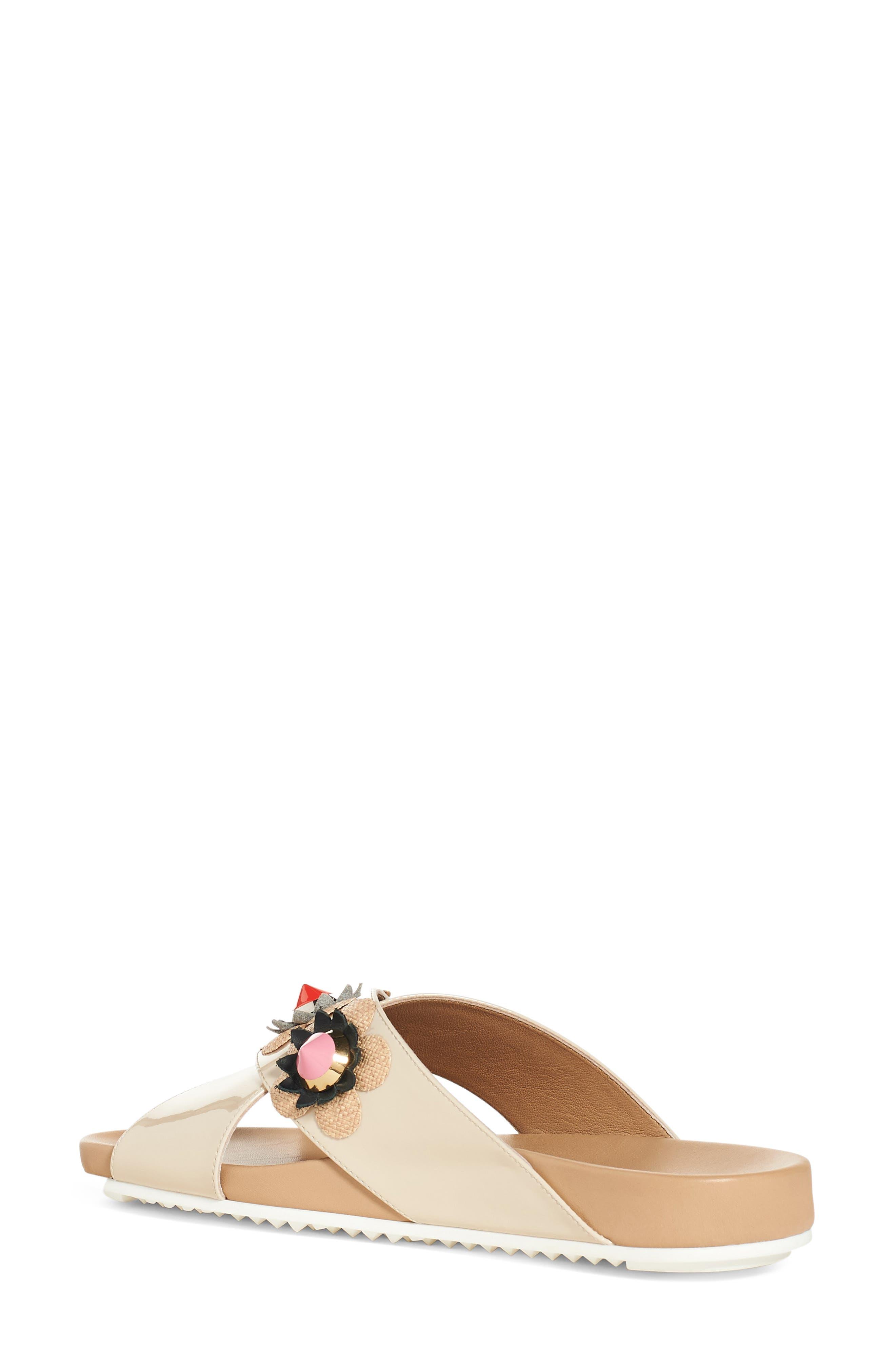 Alternate Image 2  - Fendi Flowerland Slide Sandal (Women)